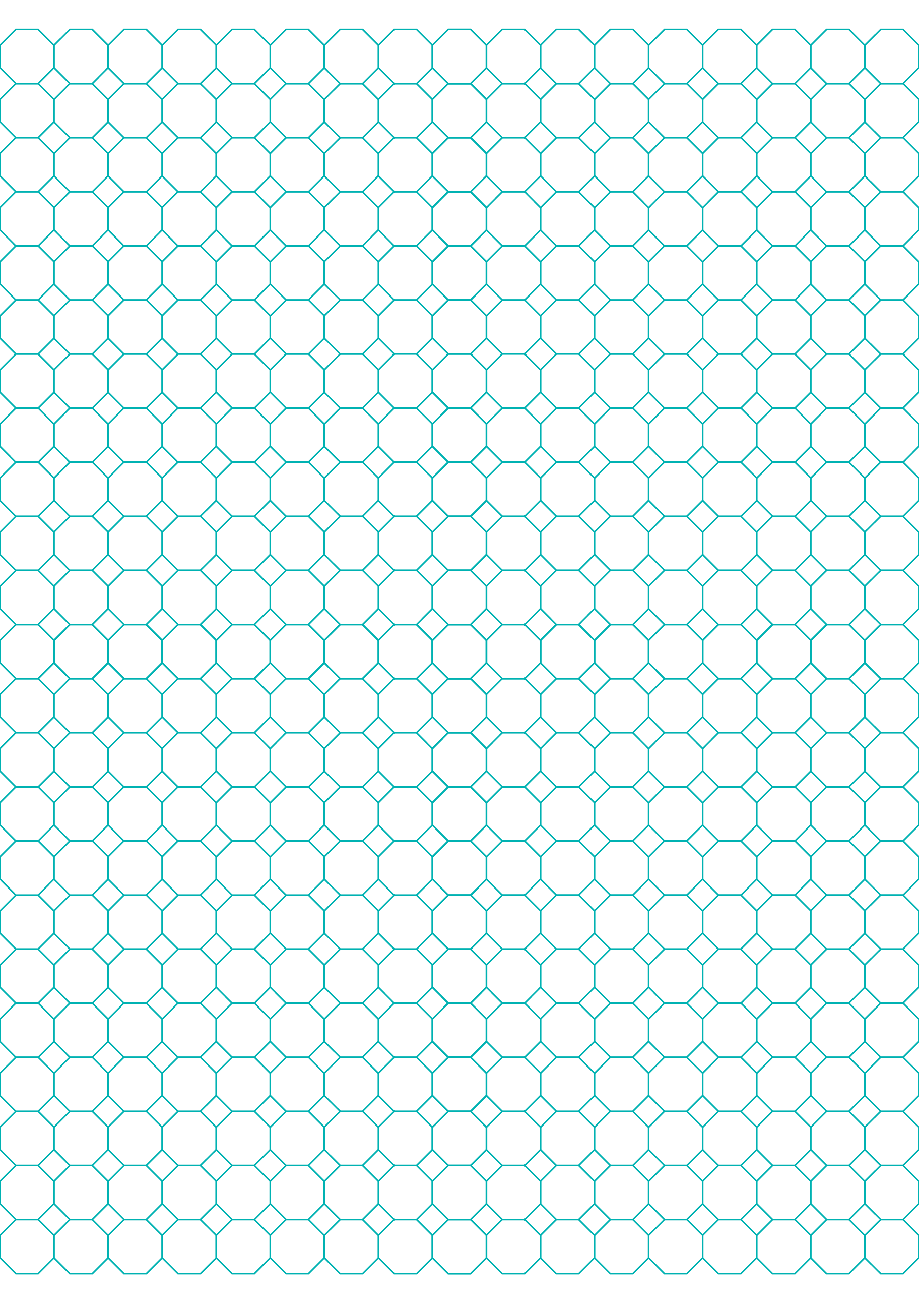 Octagon Graph Paper | Octagon Graph Paper With 1 2 Inch Spacing On Letter Sized Paper Free