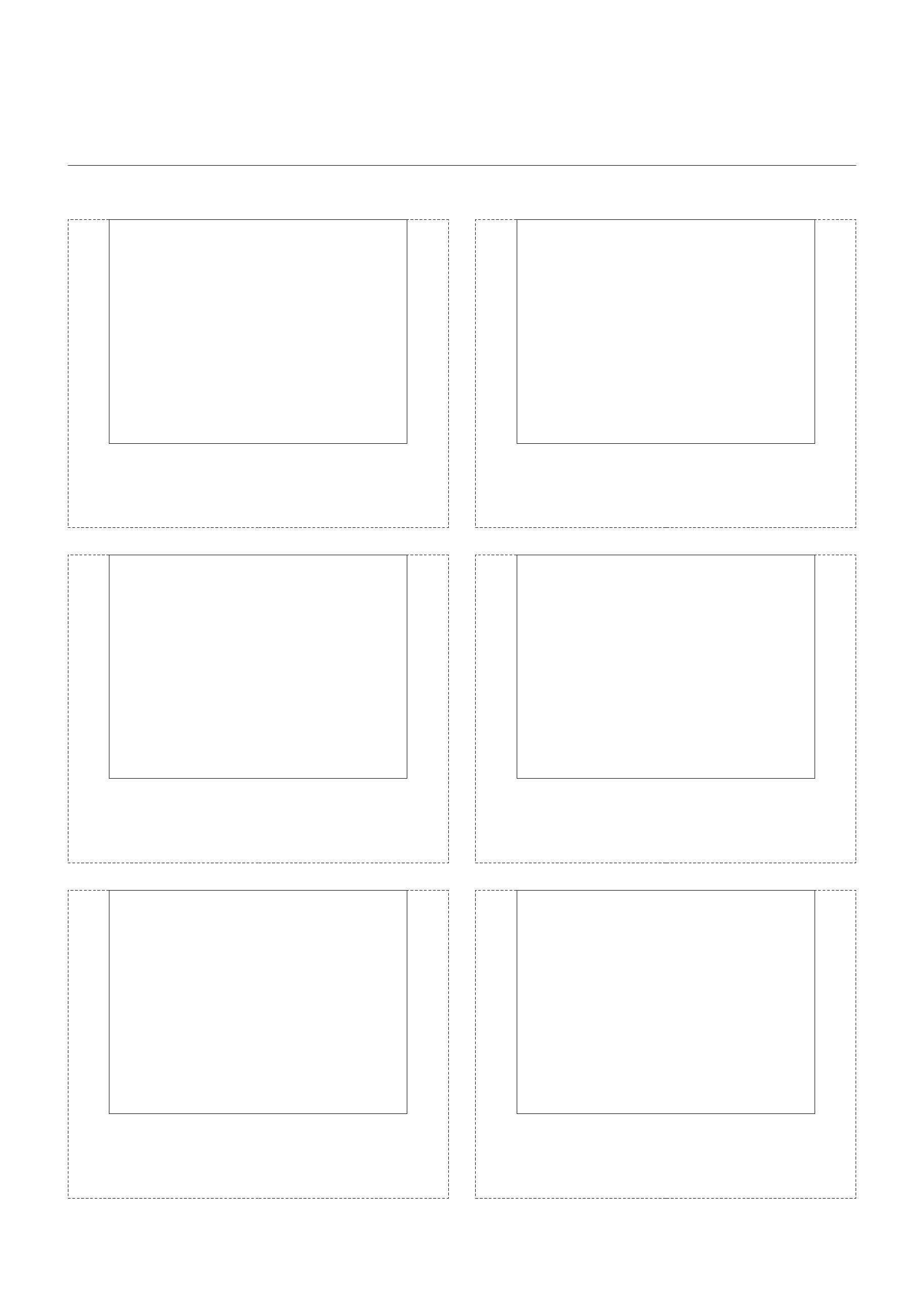 storyboard with 2x3 grid of 4 3  full screen  screens on