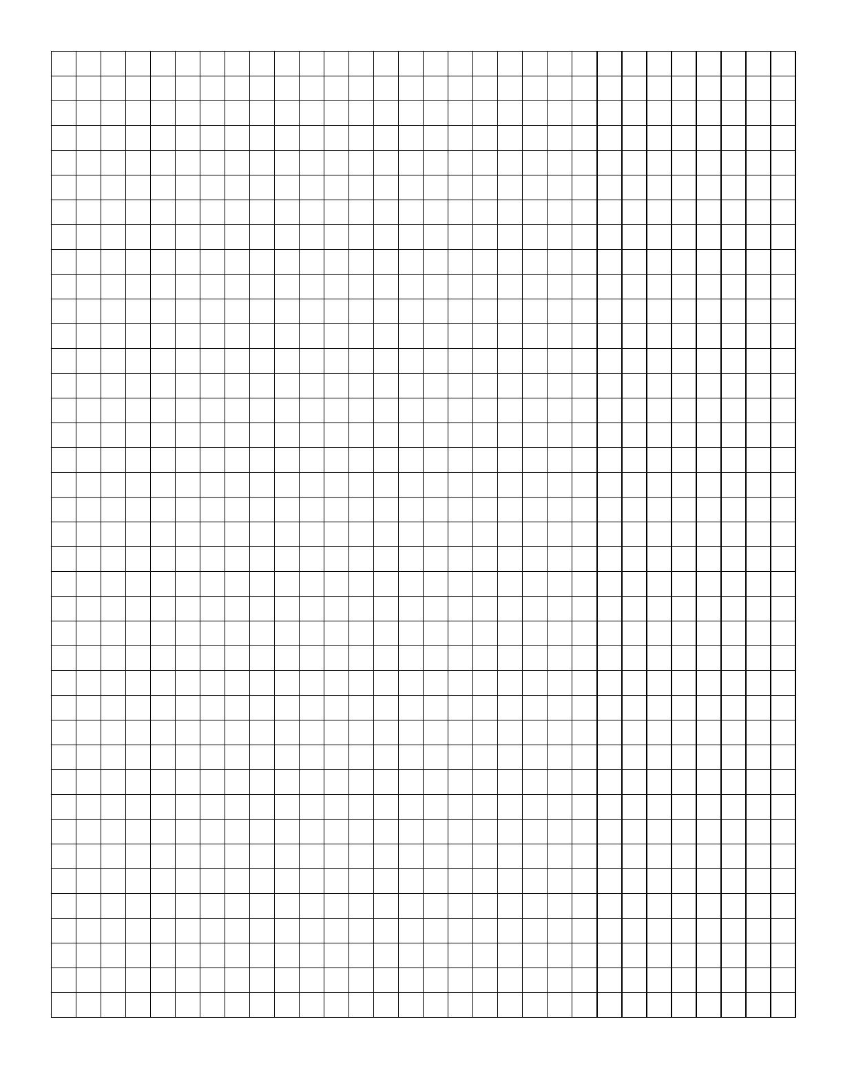 1x1 grid graph paper free download