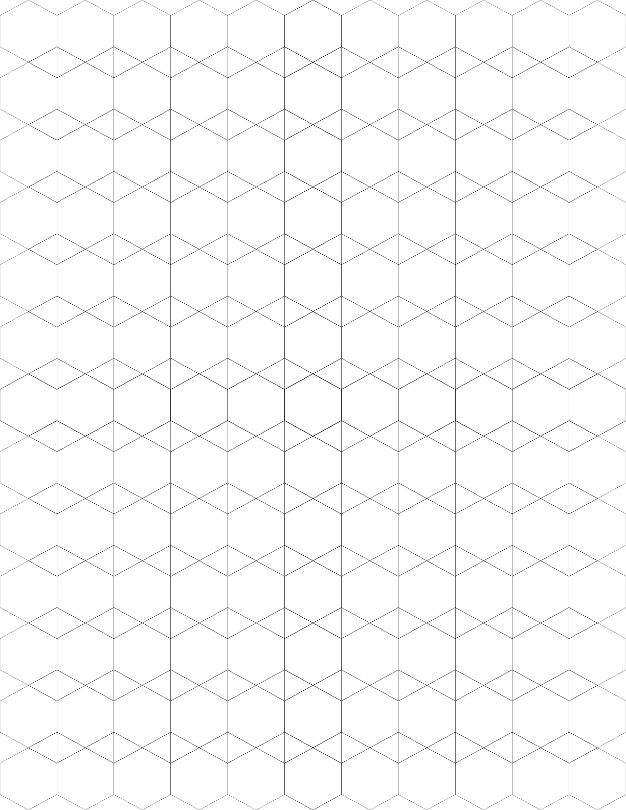 small tessellation graph paper  3 6 3 6 3 3 6 6  free download