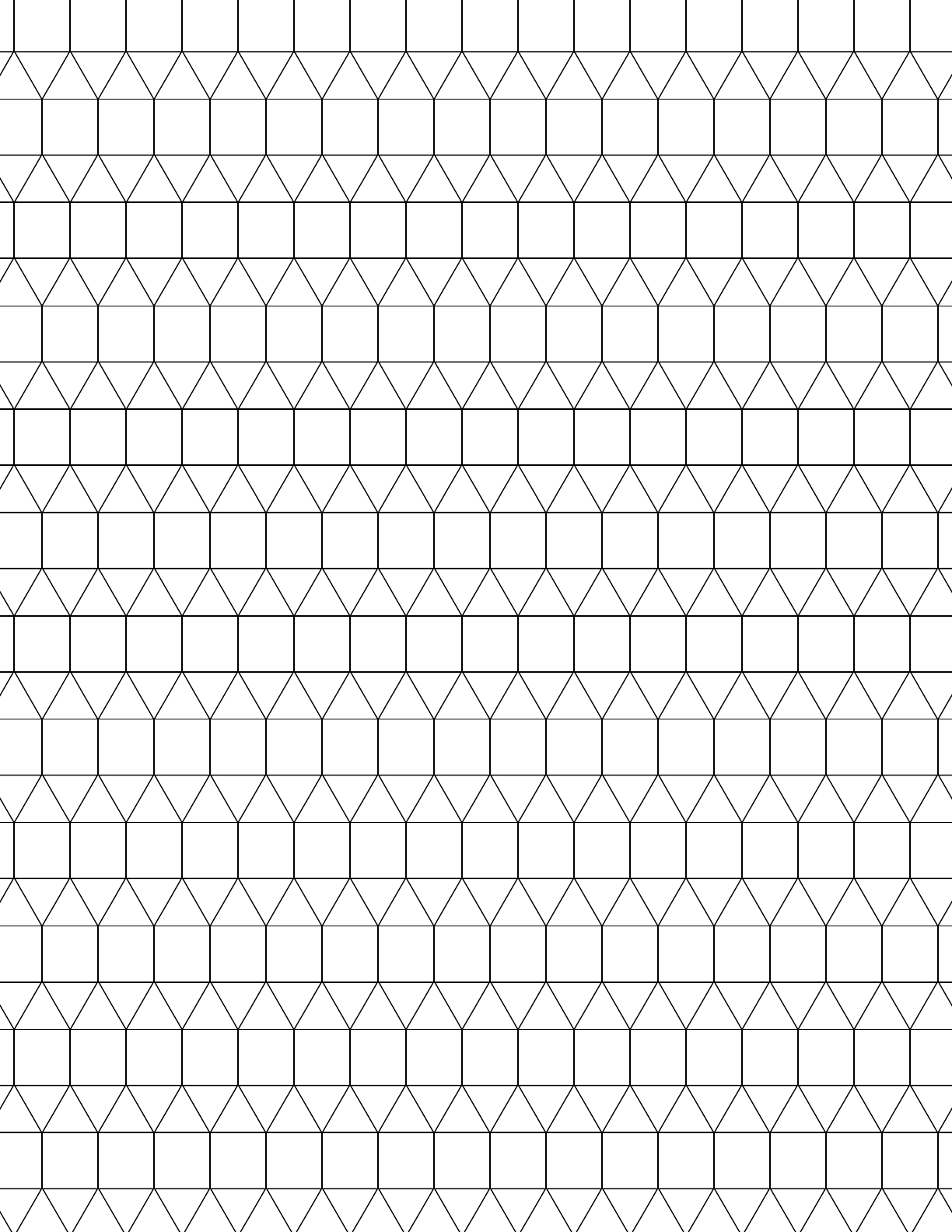 small tessellation graph paper  3 3 3 4 4  free download