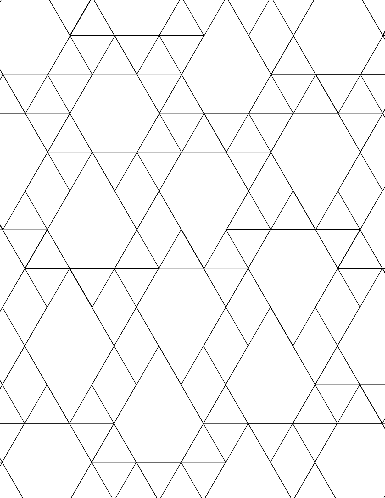 tessellation graph paper  3 3 3 3 6  free download