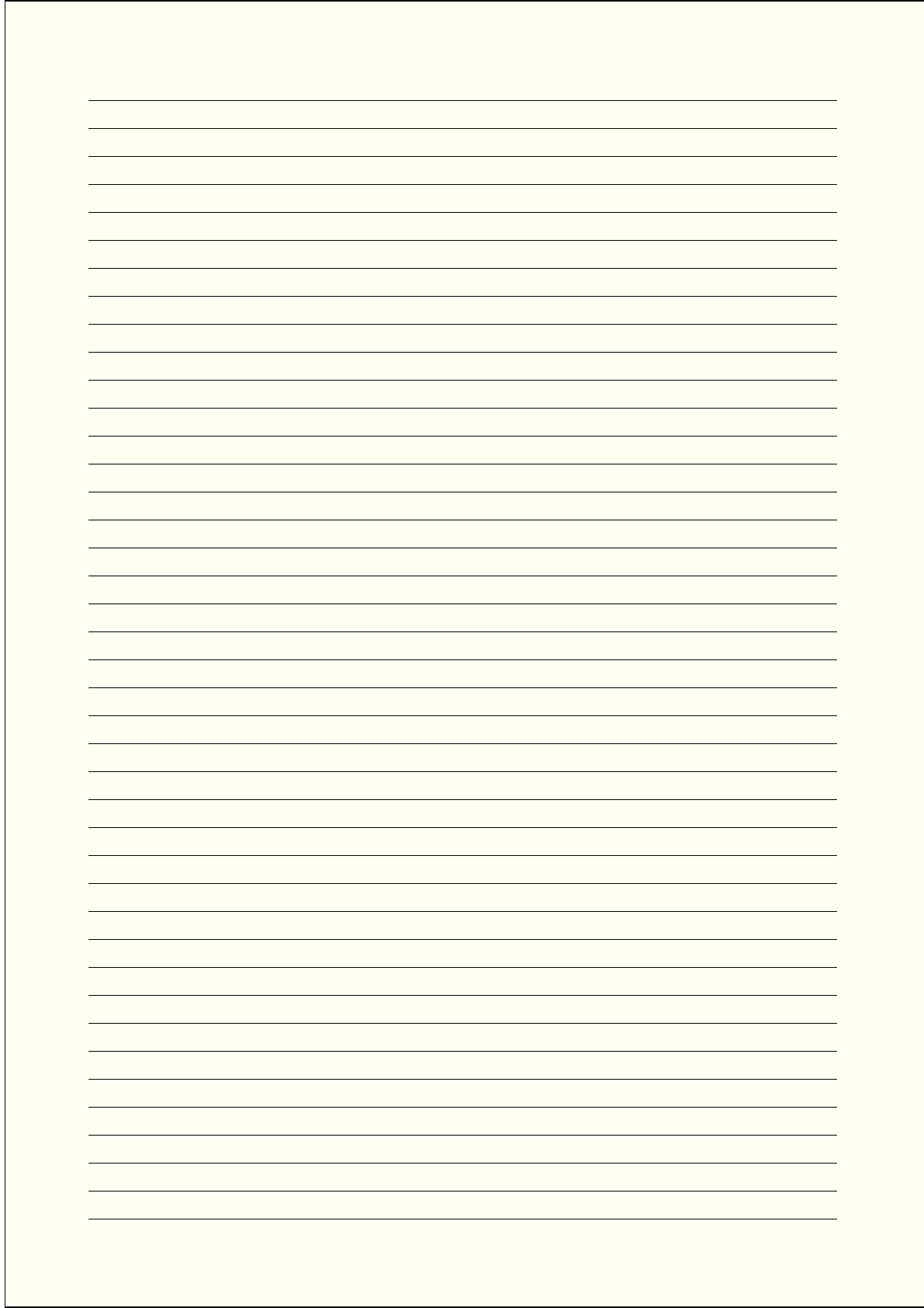 Microsoft ...  Lined Blank Paper