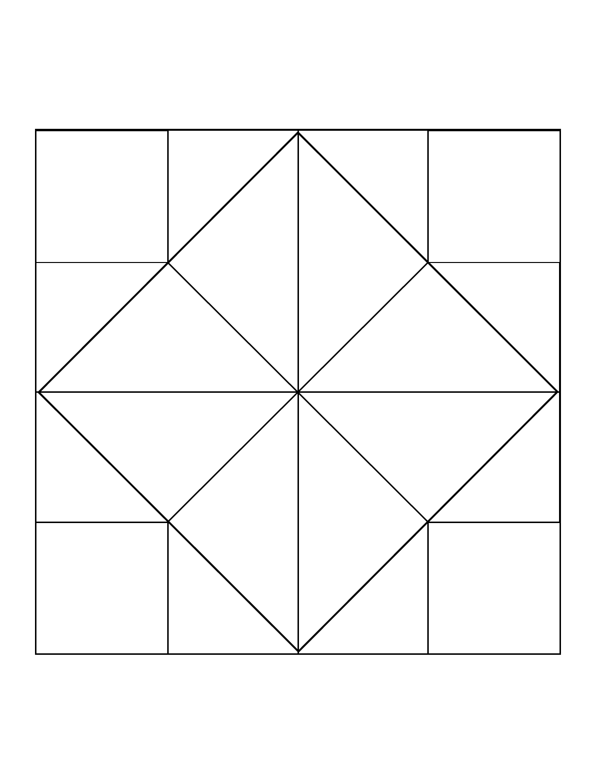 Free Cootie Catcher Template on Unit Circle Template