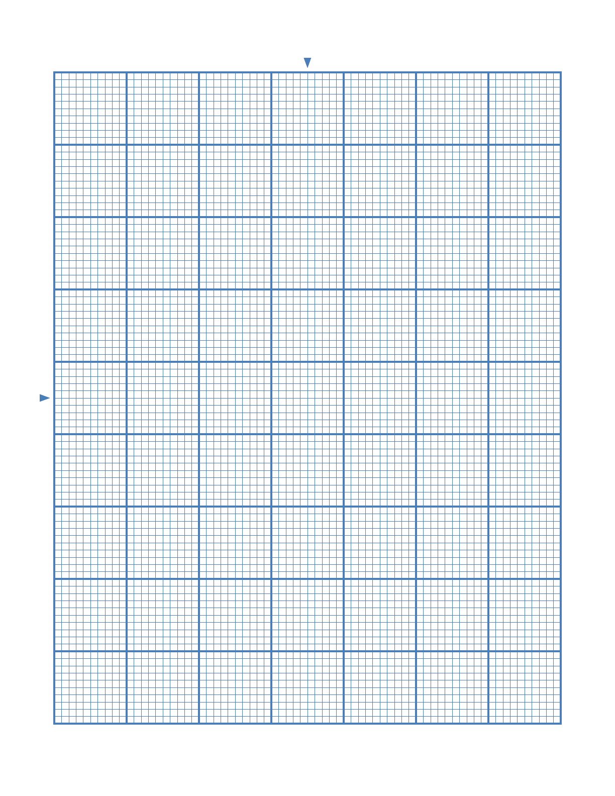 CrossStitch 10 Lines per Division