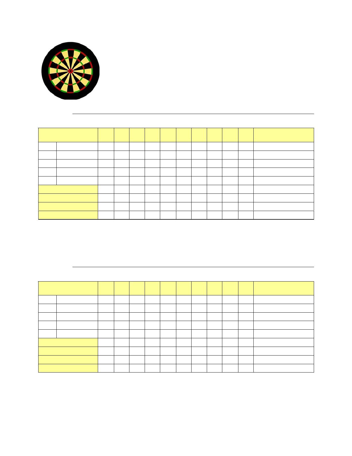 darts score sheet free download