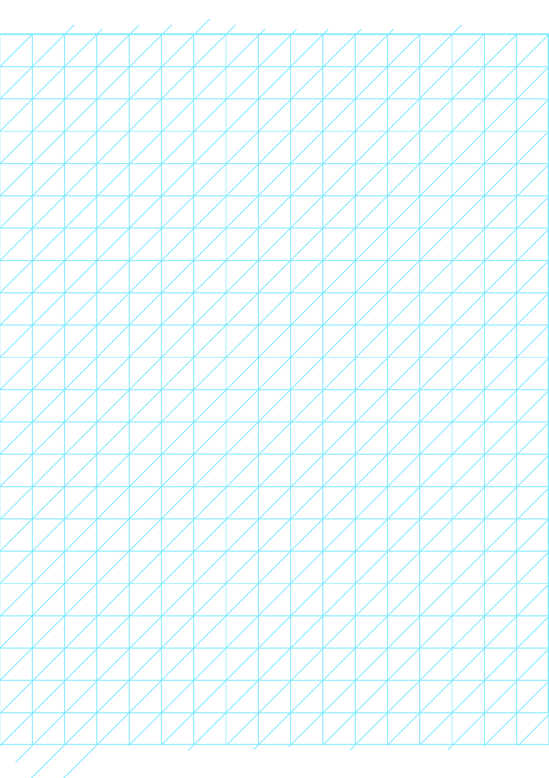 oblique graph paper 05 inch free download