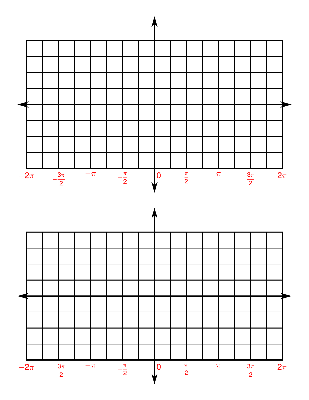 4 quadrants trigonometry paper free download