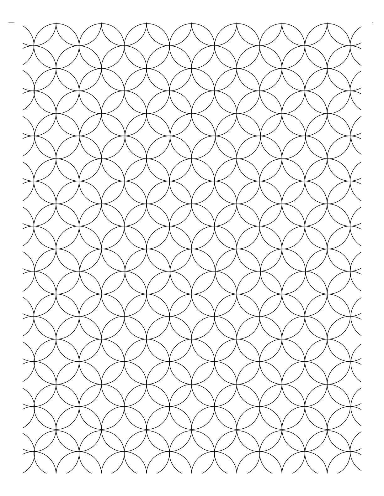 overlapping circles graph paper free download