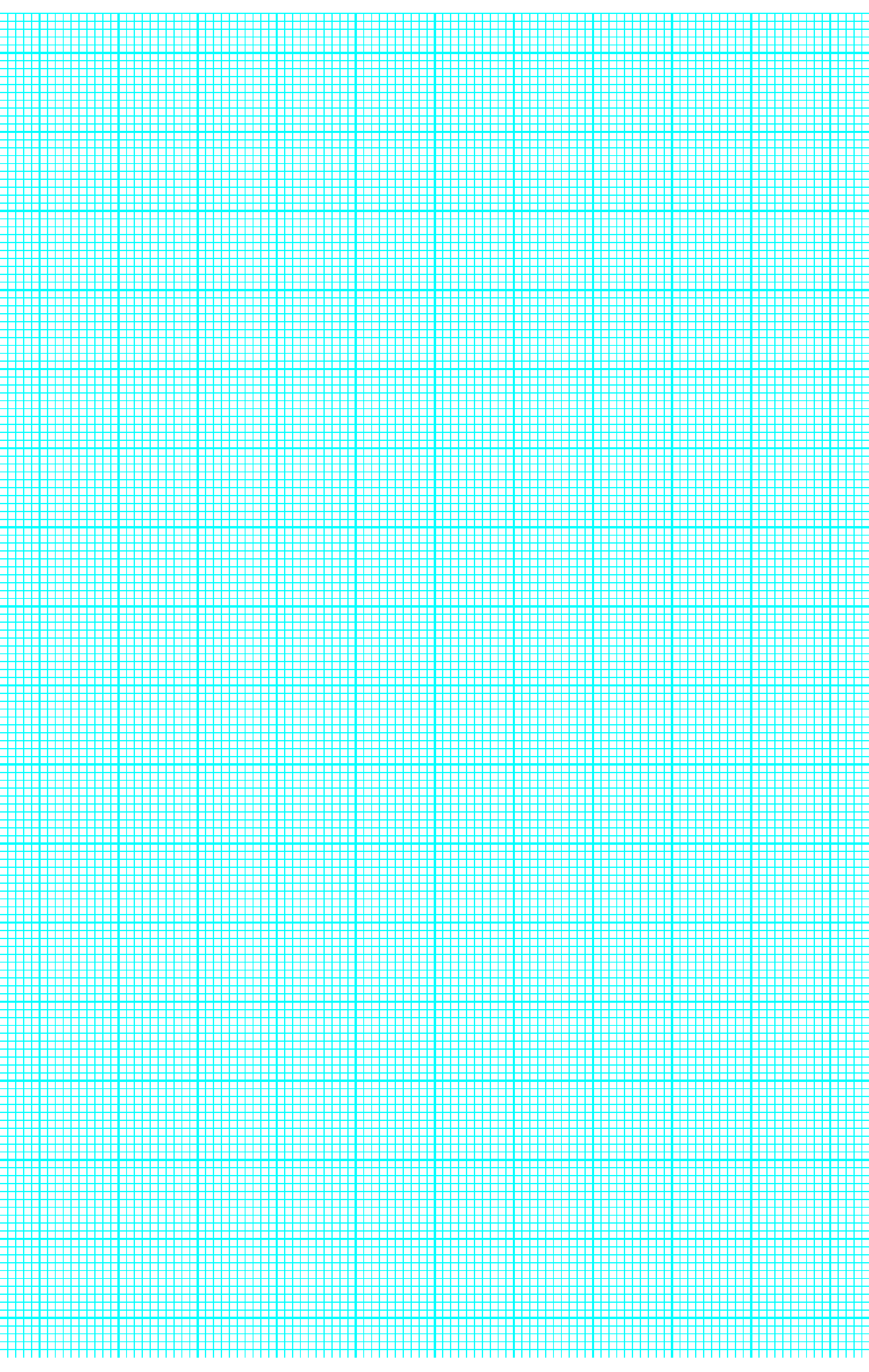 10 lines per inch graph paper on ledger