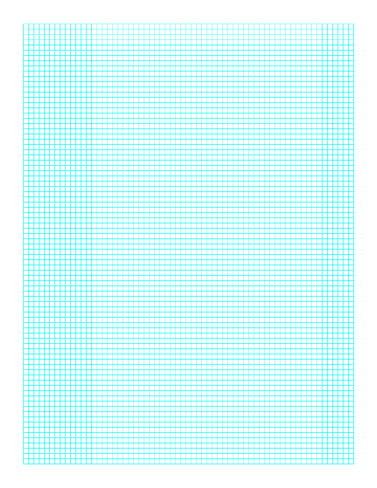graph paper on a4 paper 1 line every 3 mm free download