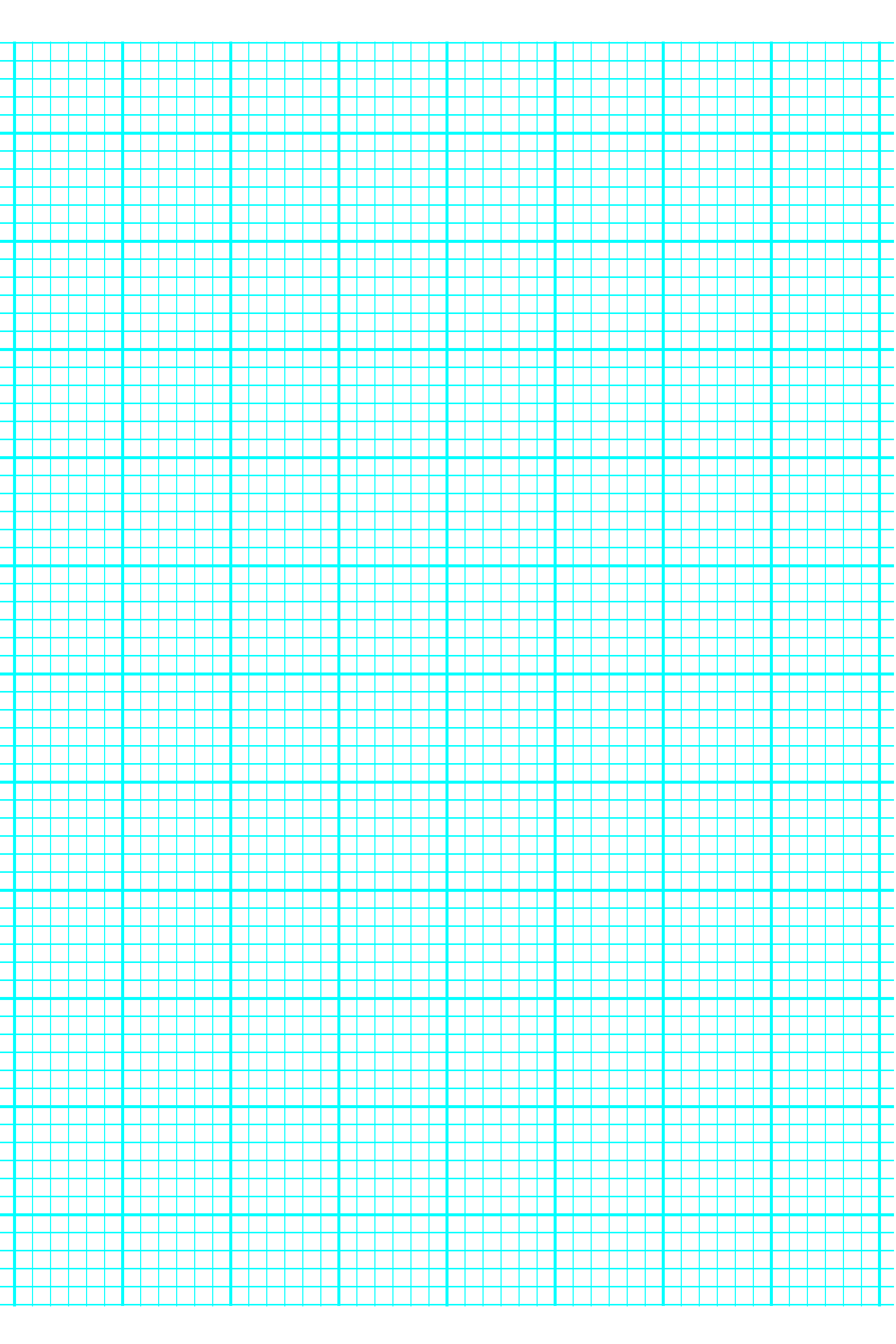 6 Lines per Inch Graph Paper on A4sized Paper  Heavy