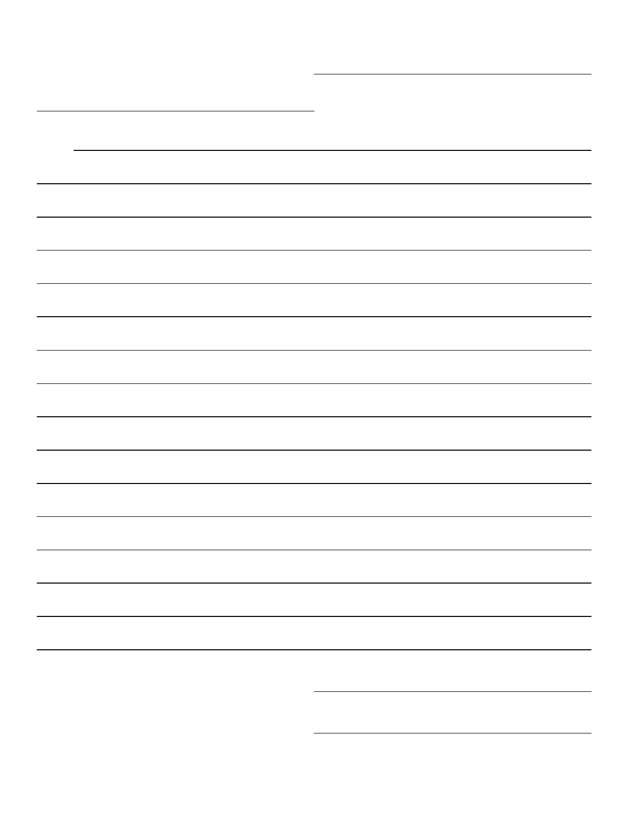 letter paper template paper format