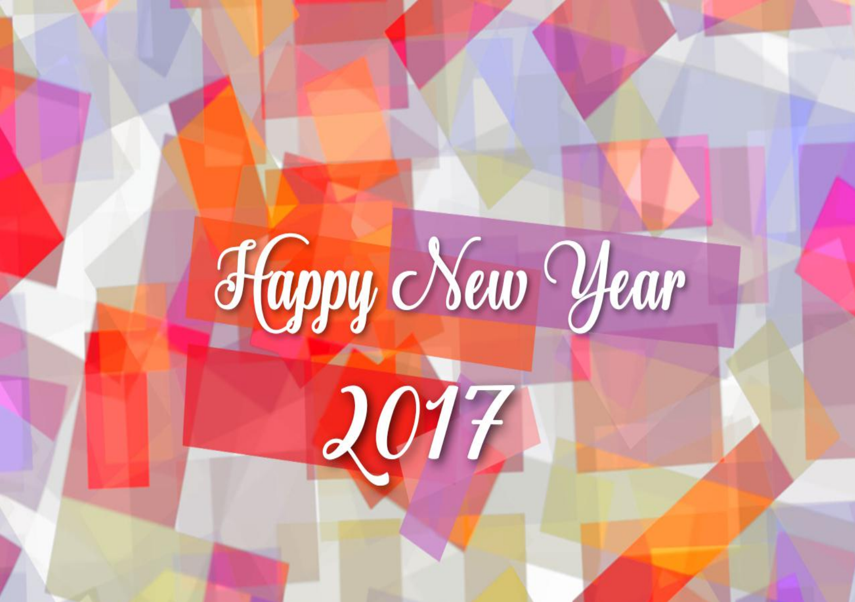 2017 Happy New Year Card Free Download