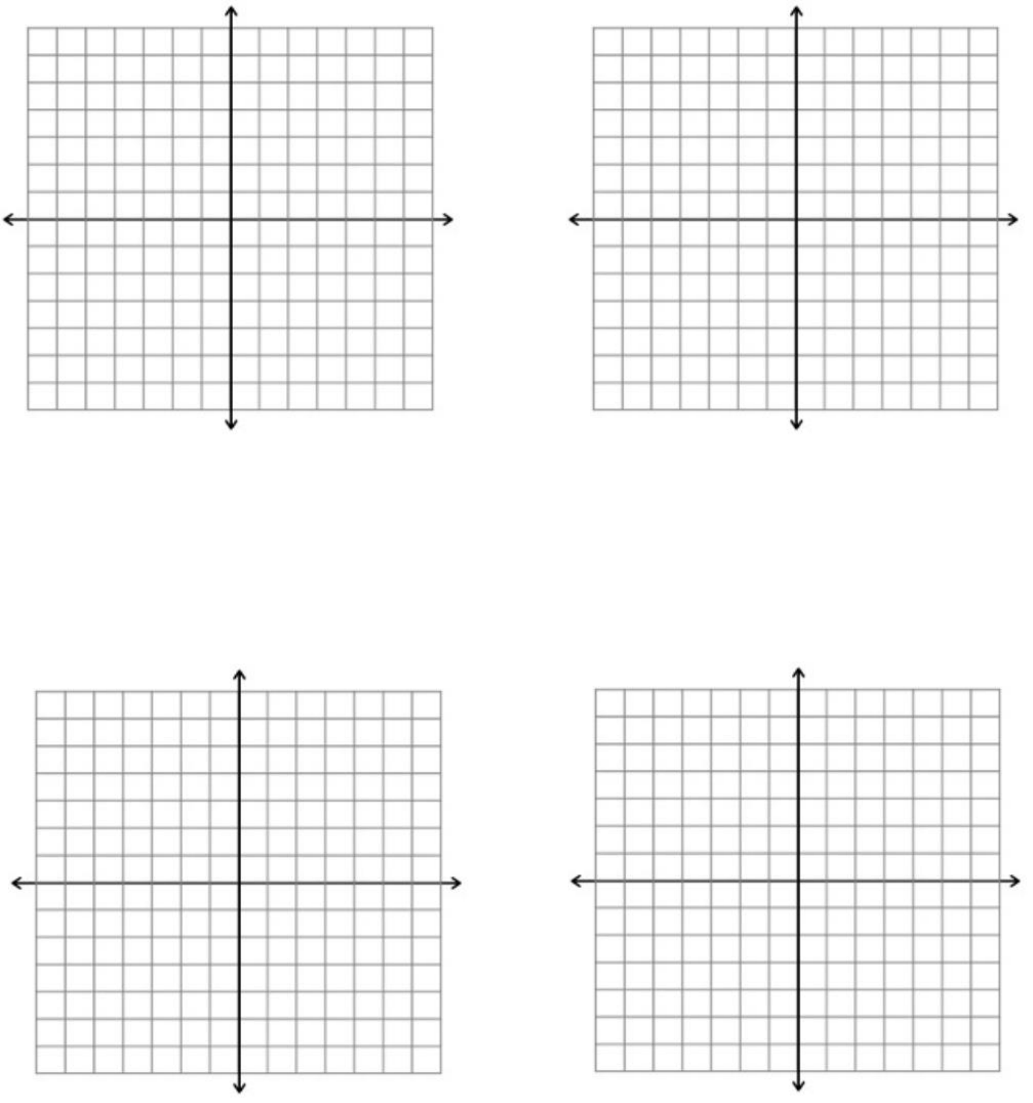14x14 Axes Graph Paper Template Free DownloadPrintable Graph Paper With Axis