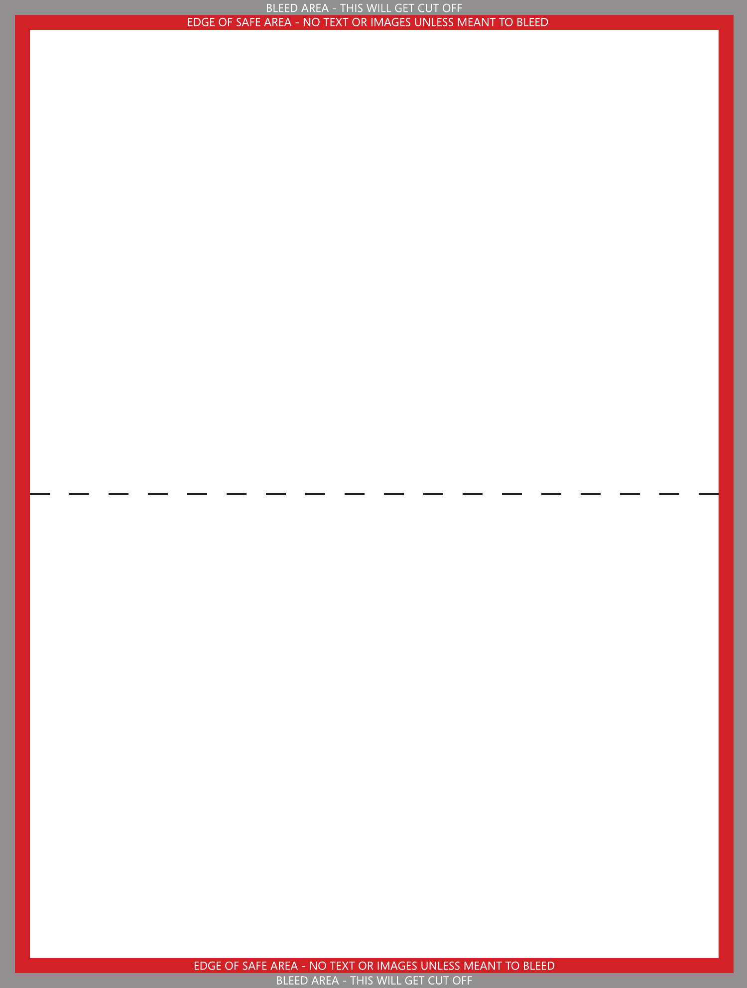 folded greeting card template free download