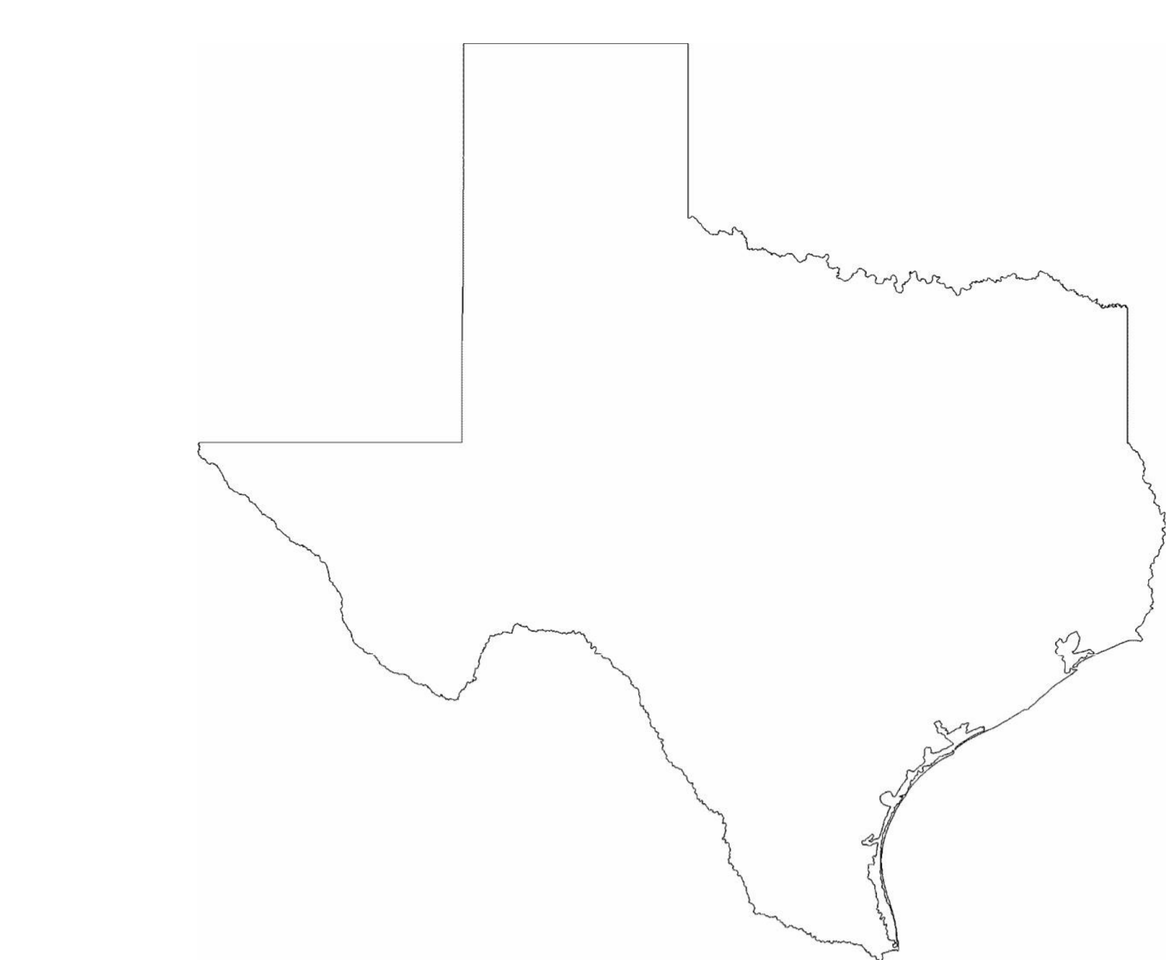Texas Outline Related Keywords Amp Suggestions  Texas