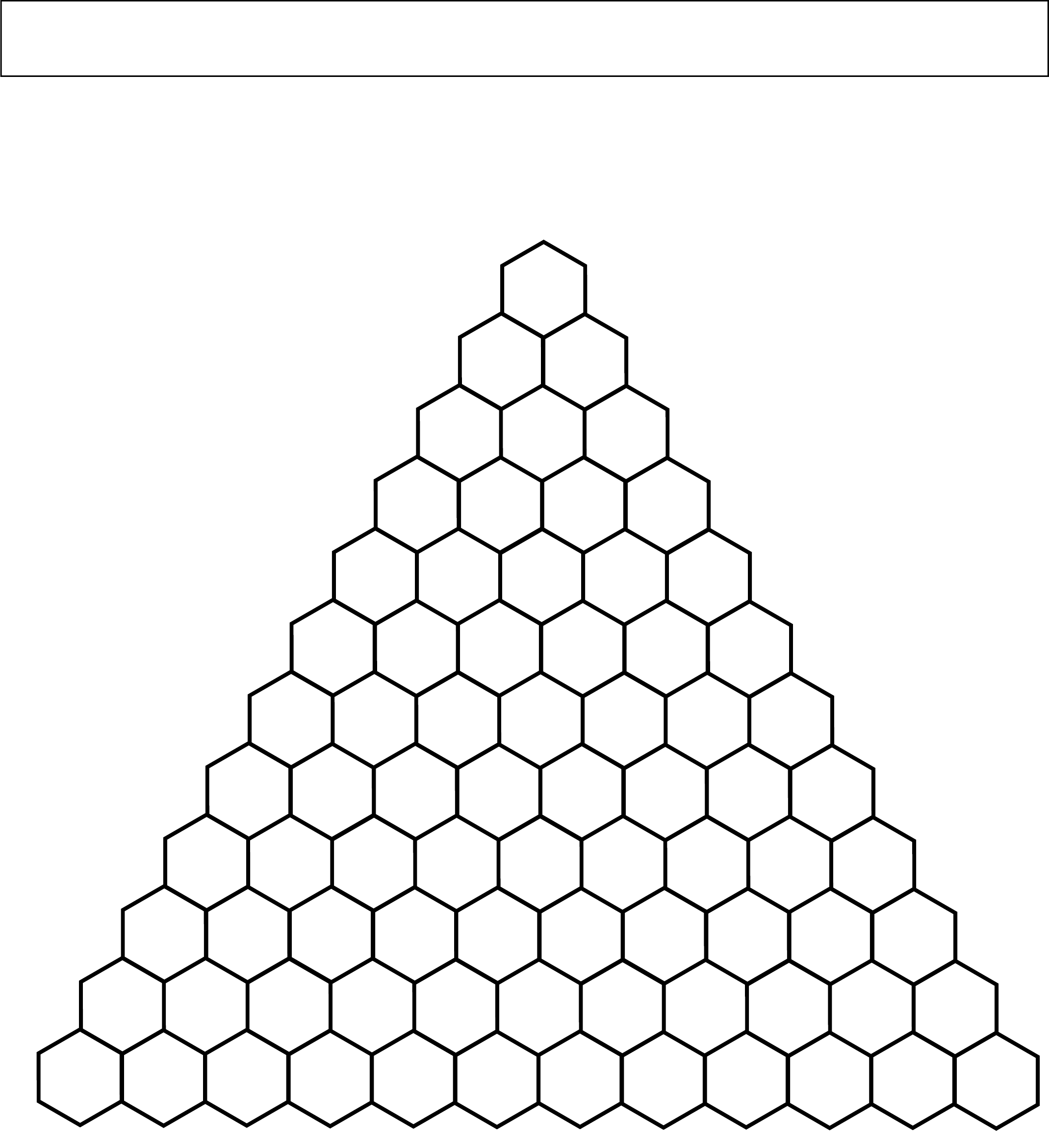 Blank Pascal's Triangle (All) Free Download