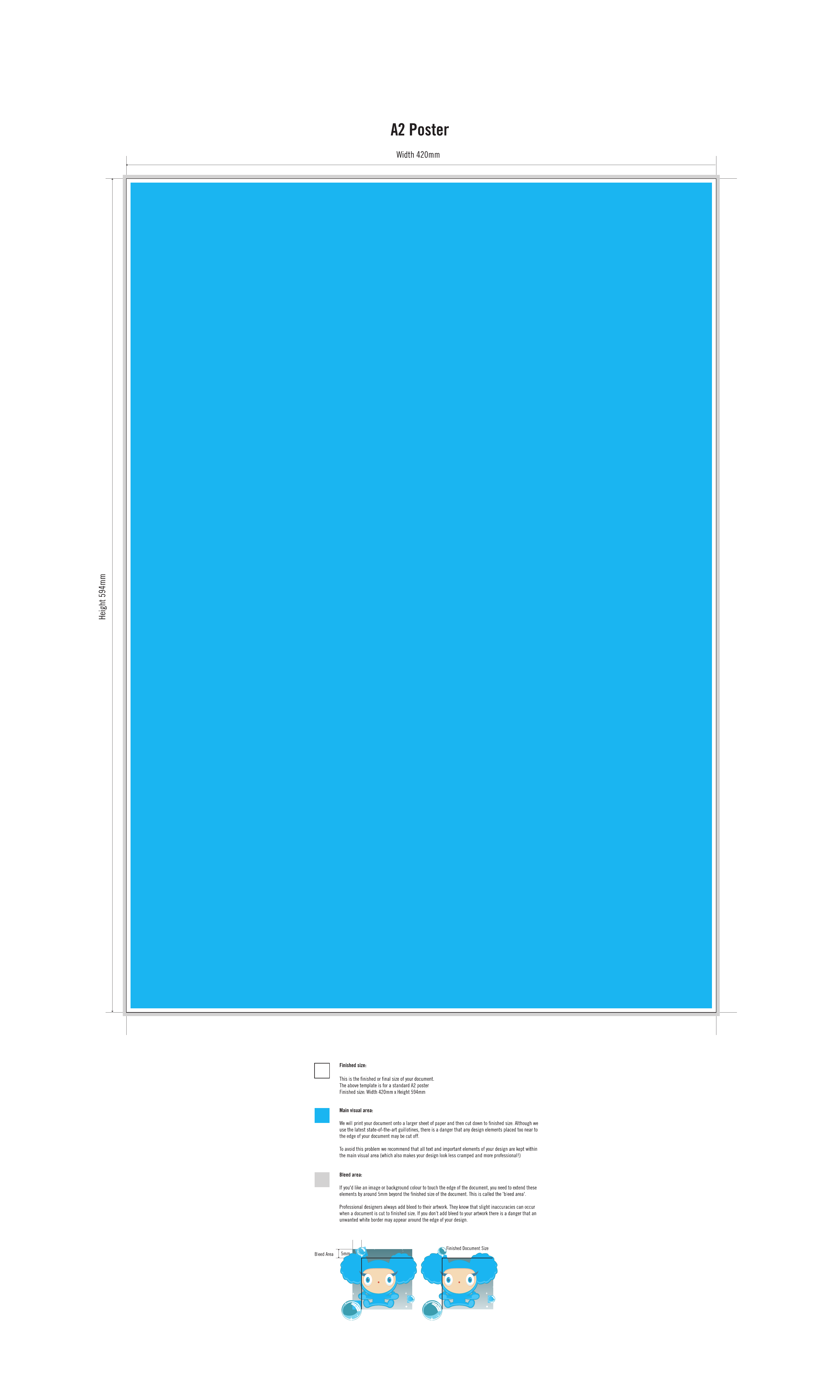 48x36 poster template