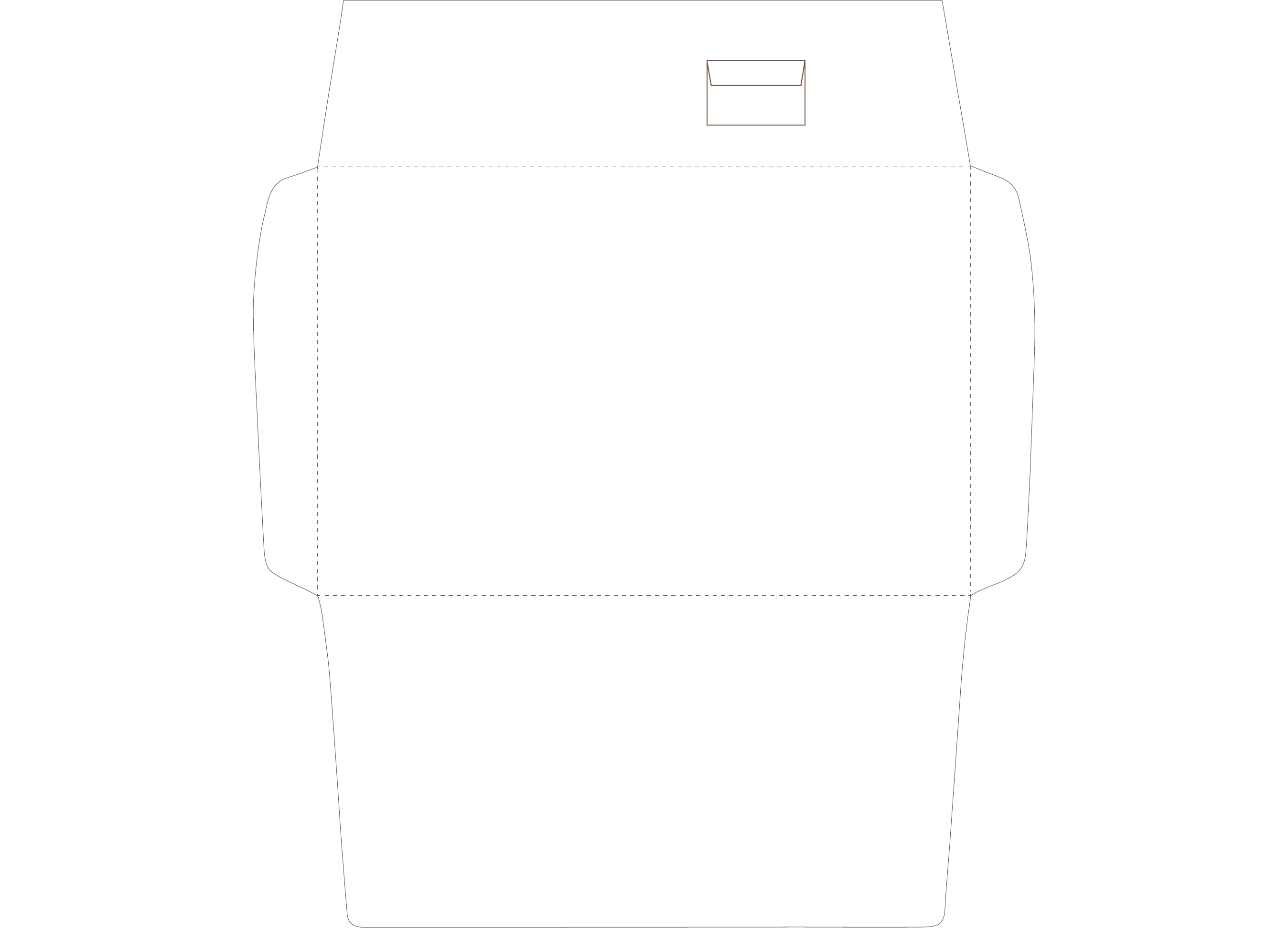 a9 envelope printing template free download