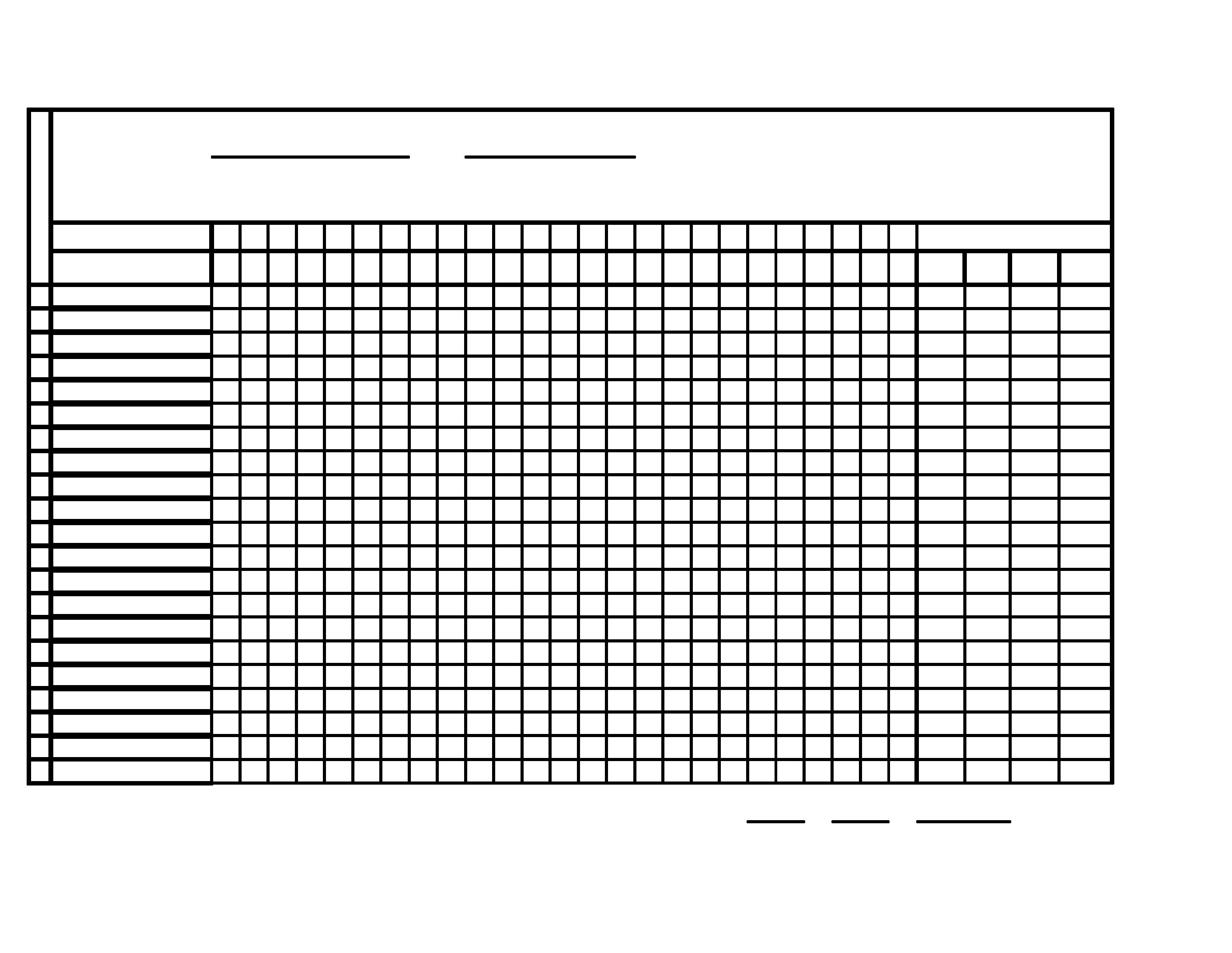 Monthly Attendance Sheet  Downloadable Attendance Sheet