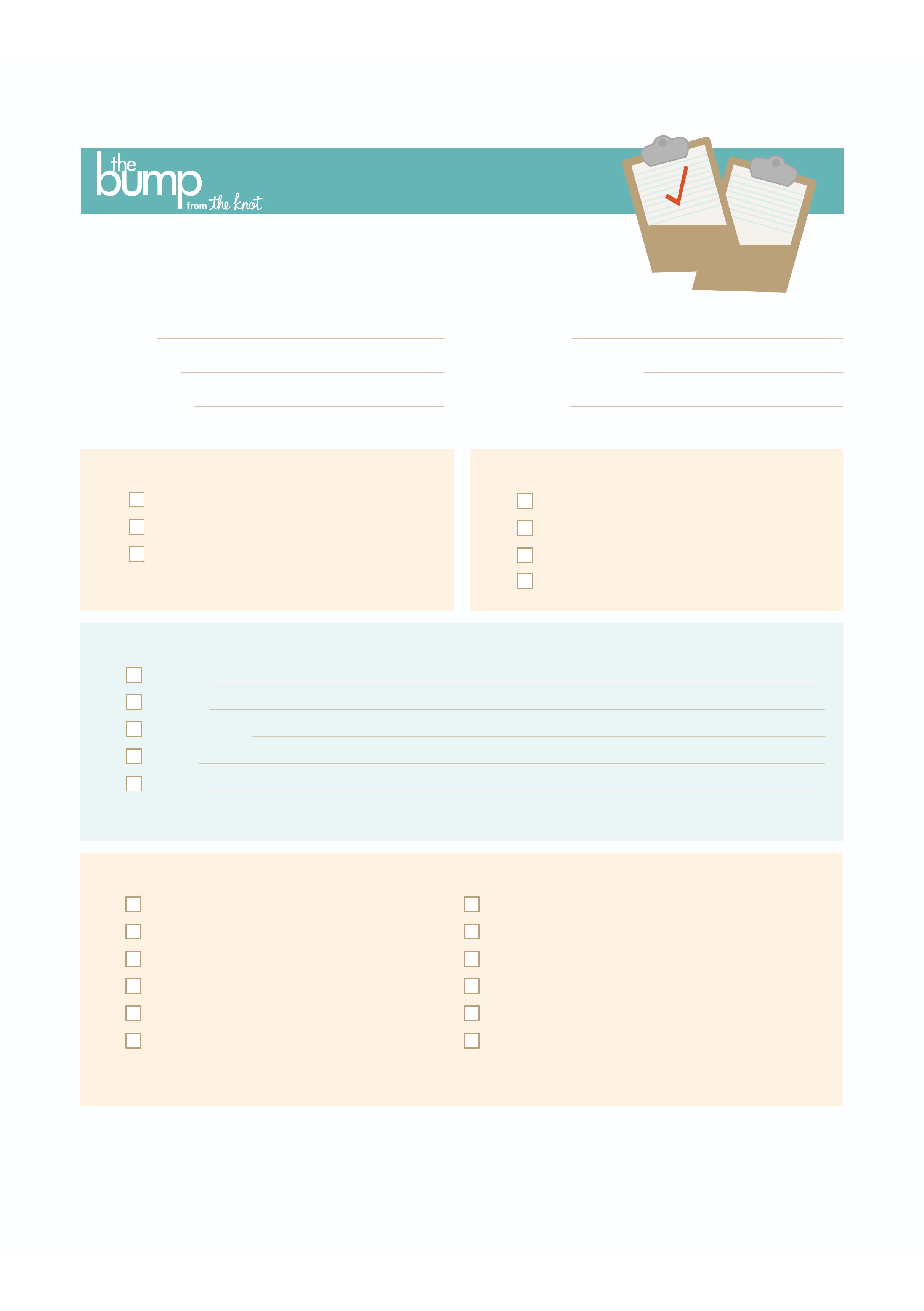 sample birth plan template free download
