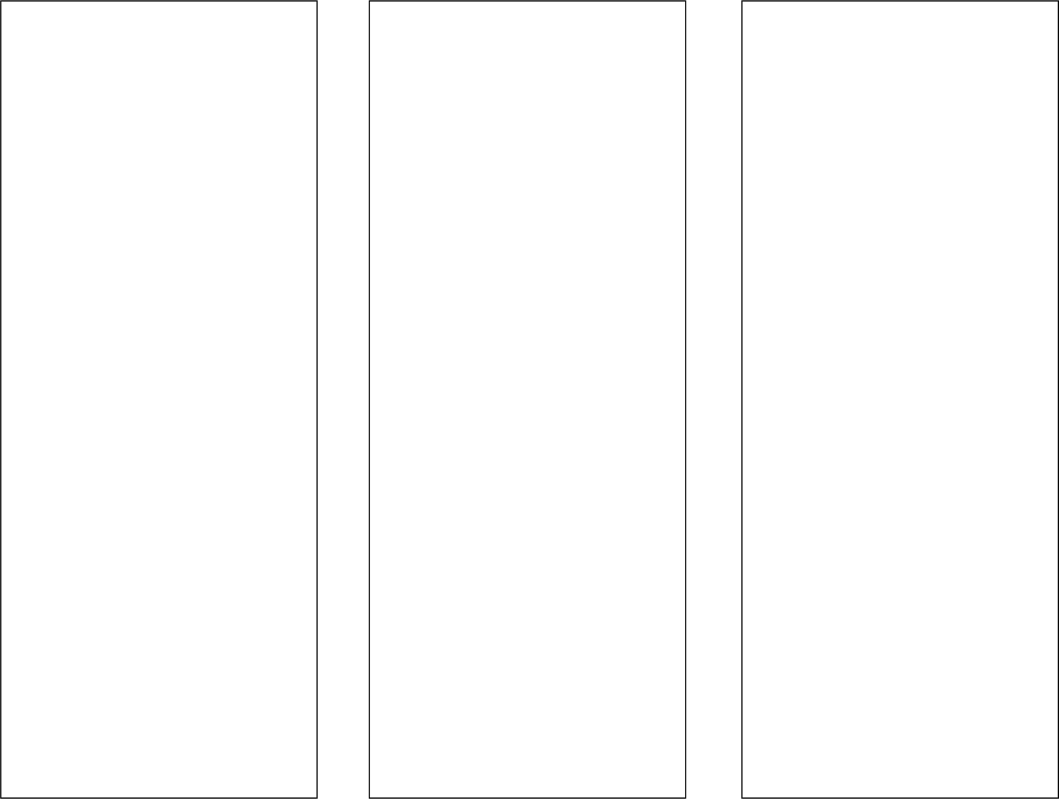 Blank Brochure Template Inside Blank Brochure Template Word