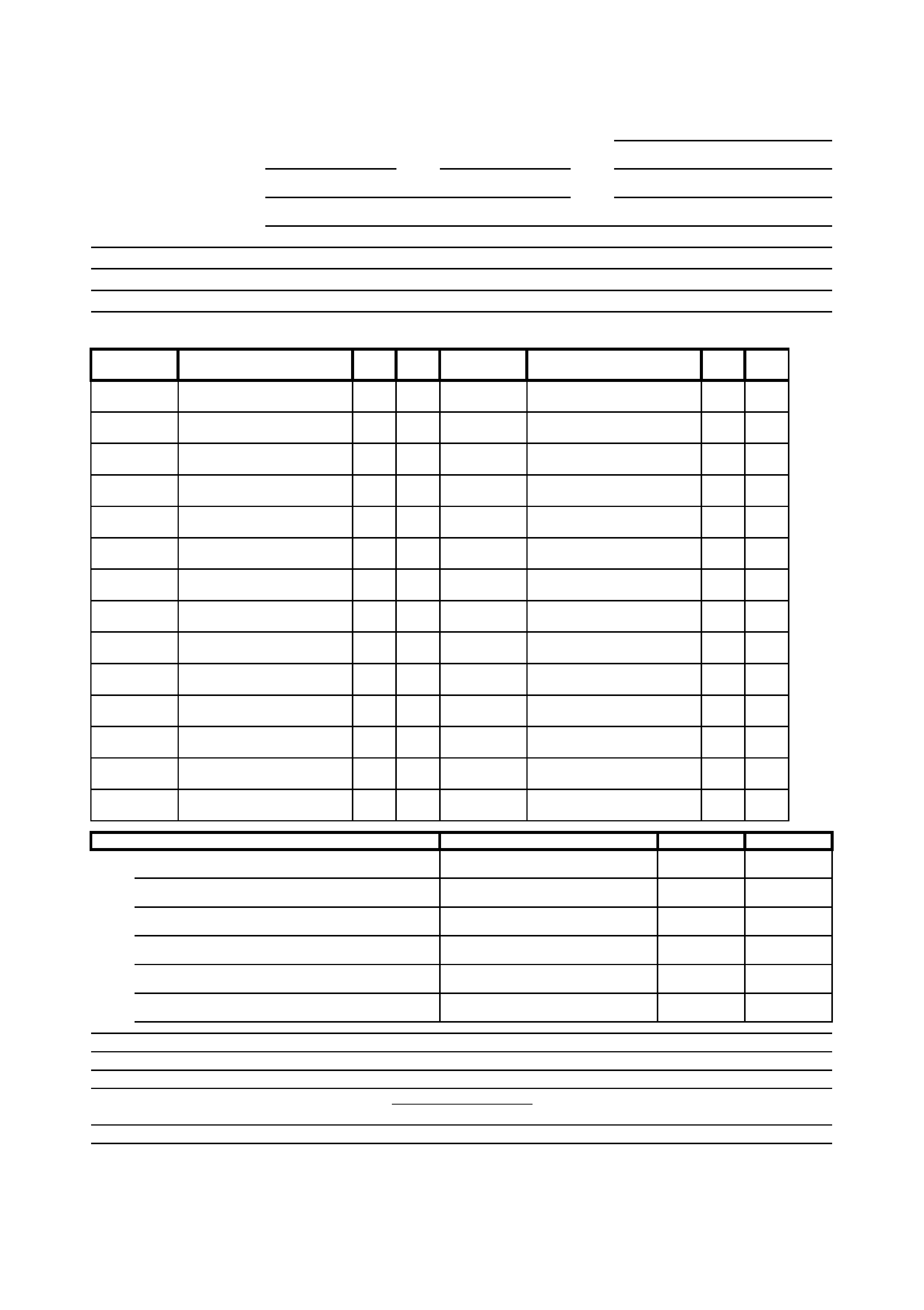 Formsbirds  Call Sheets Template
