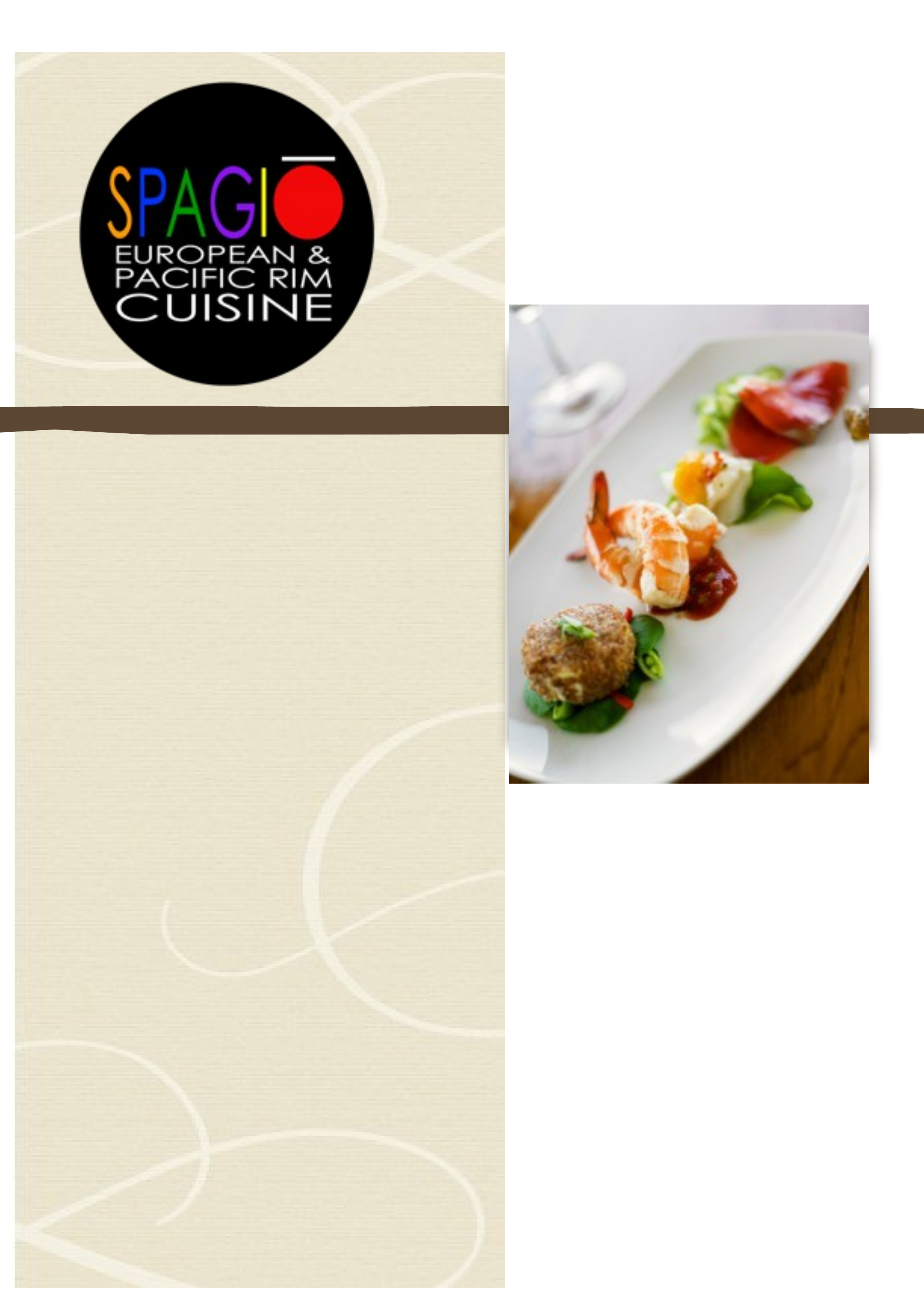 Catering Brochure Templates For Sping Summer Menu Free Download - Catering brochure templates