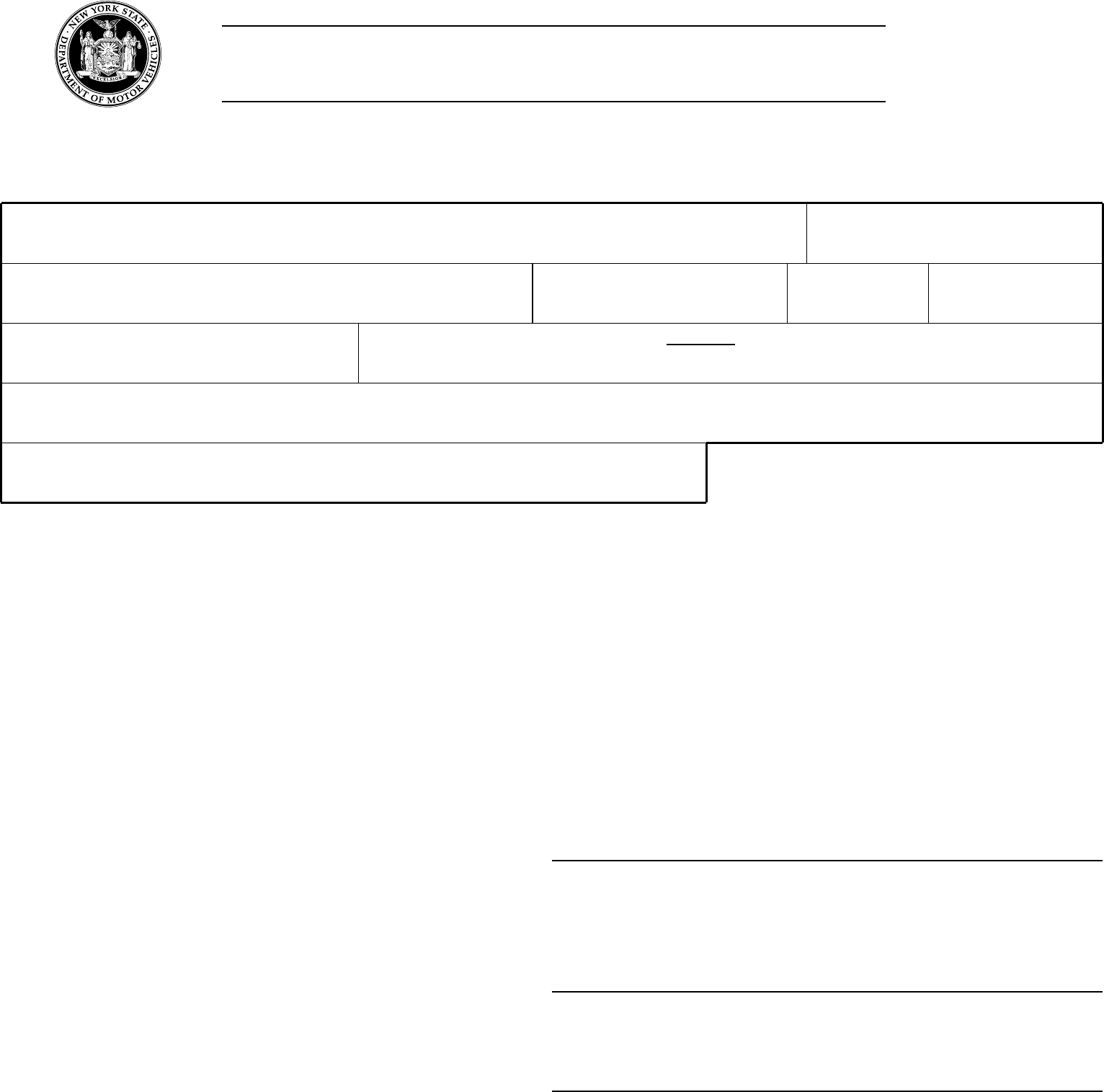 Form Mv 522 1 Application For Access To Dmv Internet