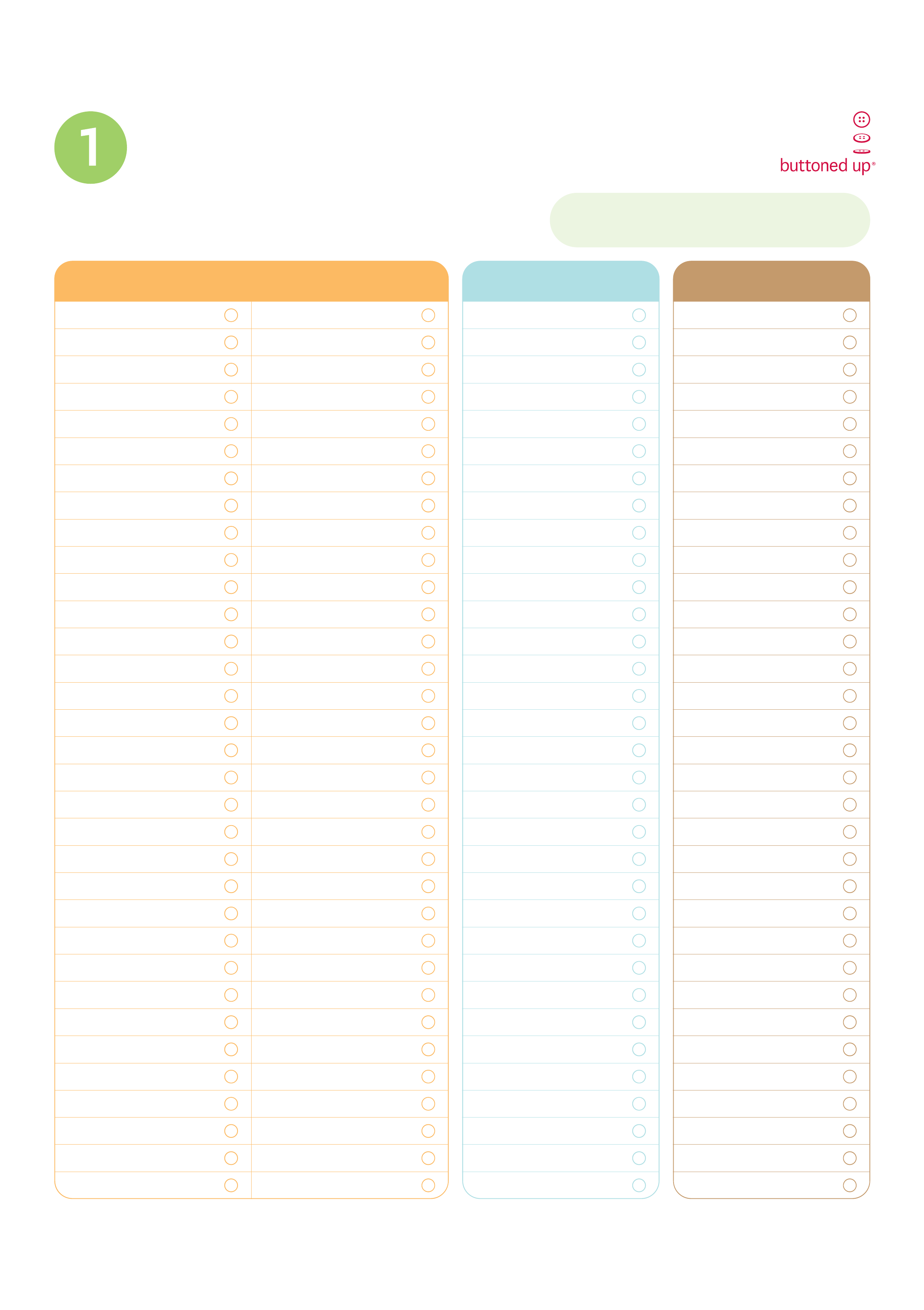 Laundry To Do List Template Free Download