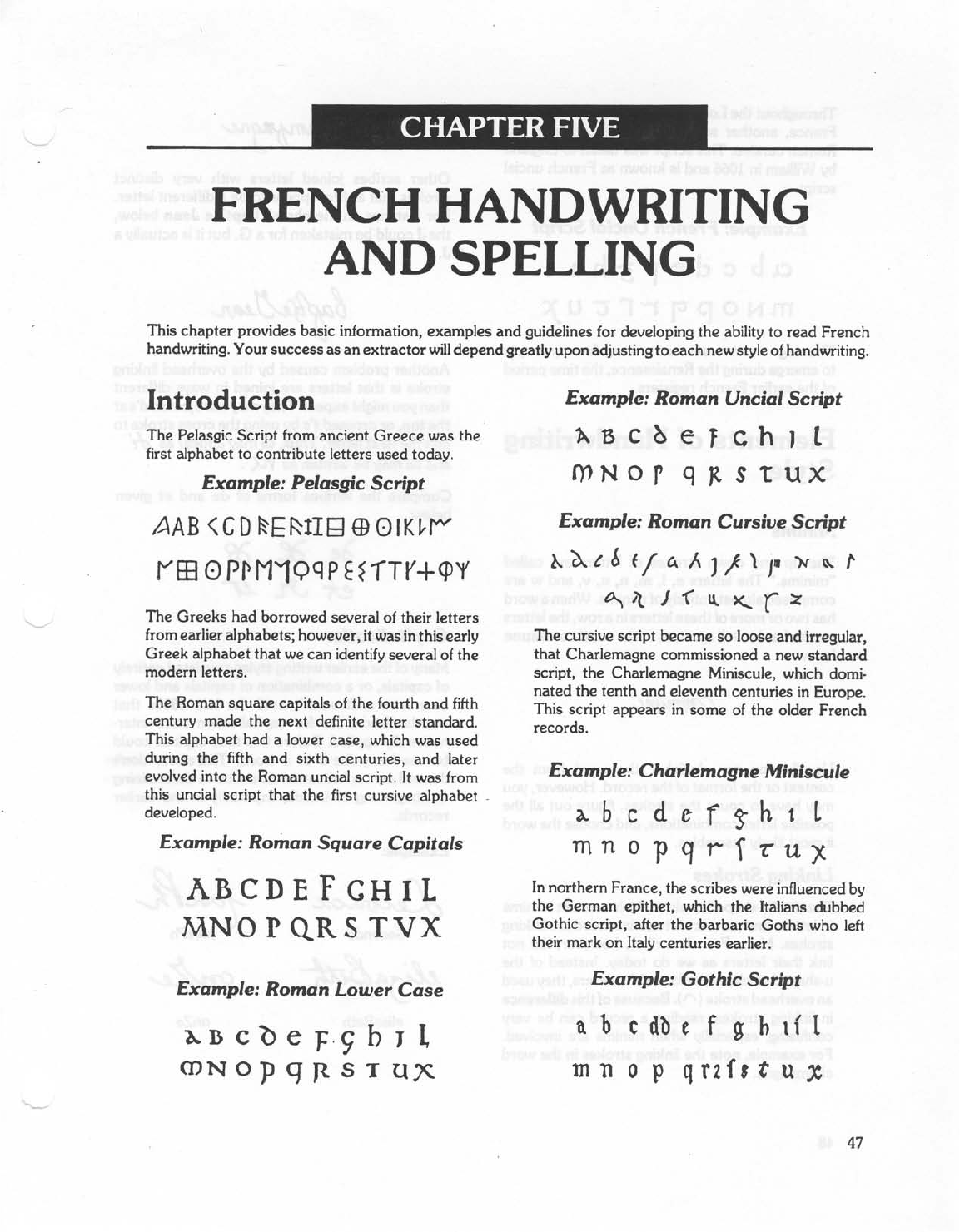 french handwriting and spelling free download