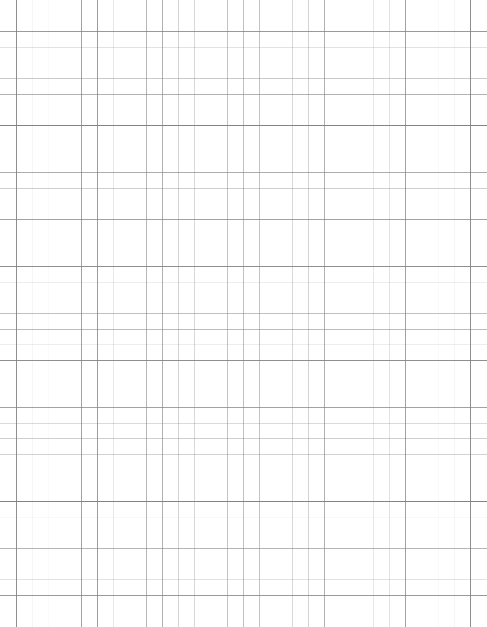 Full Page Blank Graph Paper Free Download
