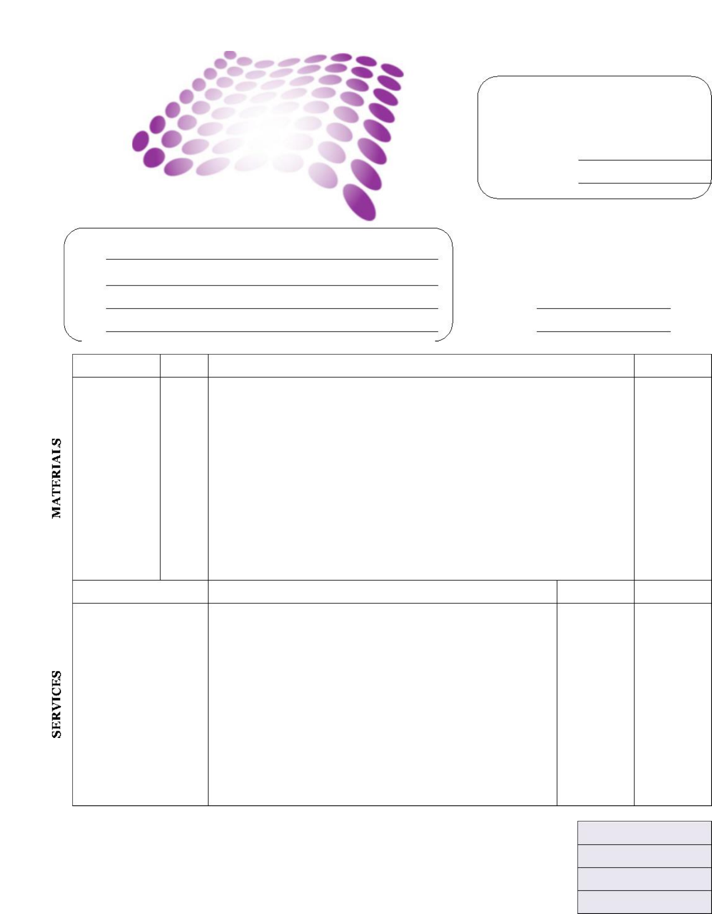 sample graphic design invoice template