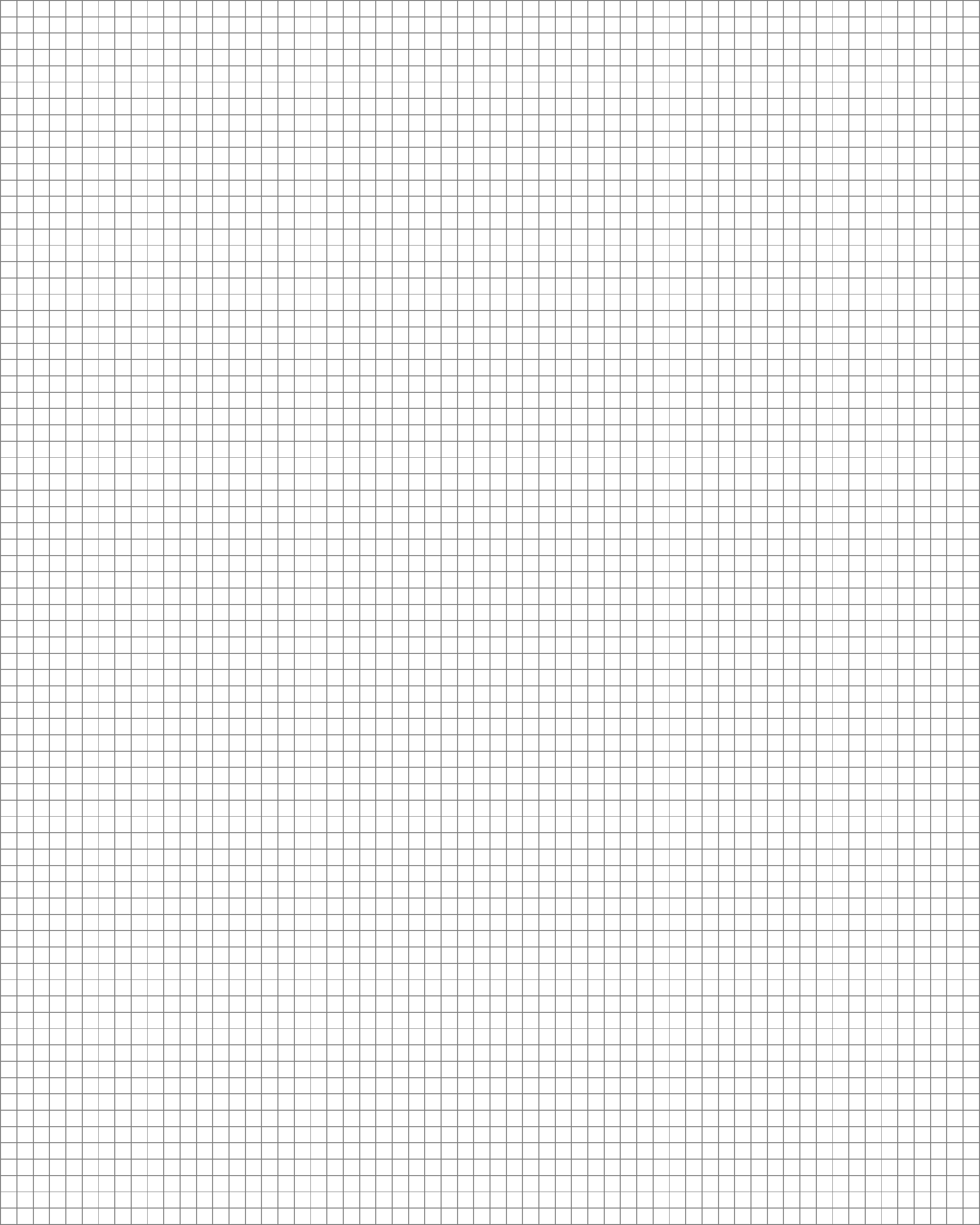 3 mm a4 size blank graph paper template free download