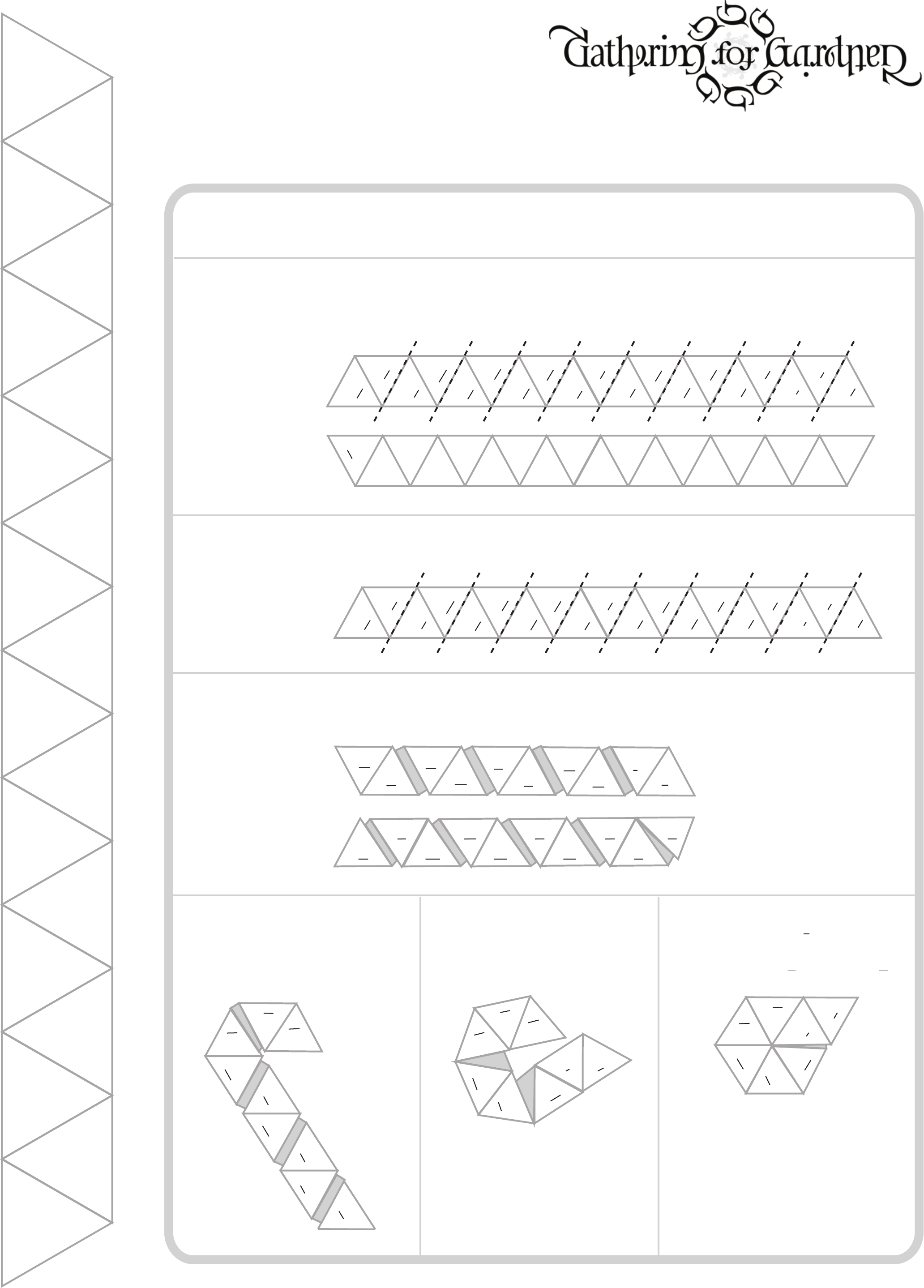 Hexahexaflexagon blank template free download for Hexahexaflexagon template
