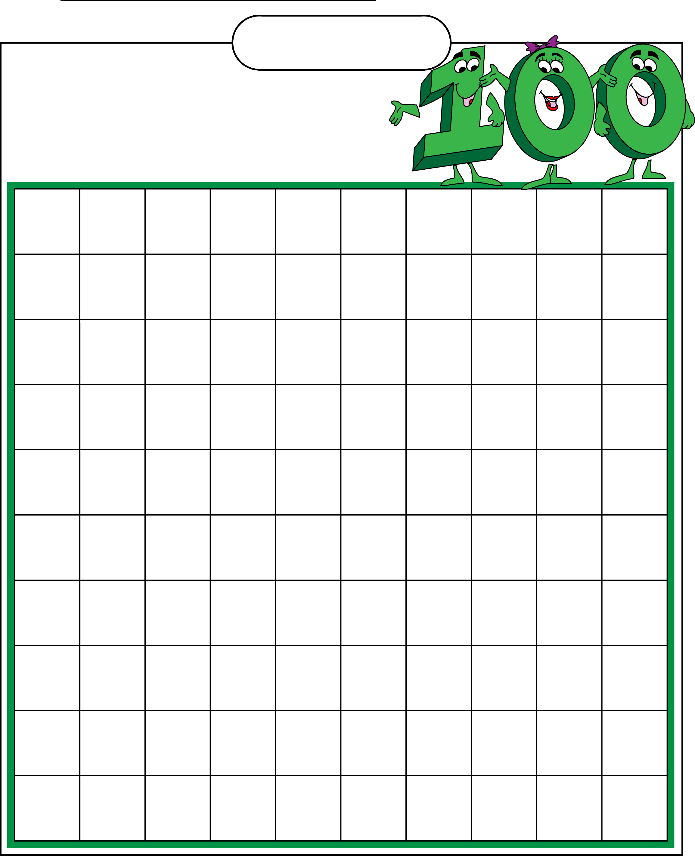 Com 100 chart 1plete the 100 chart by filling in the empty boxes