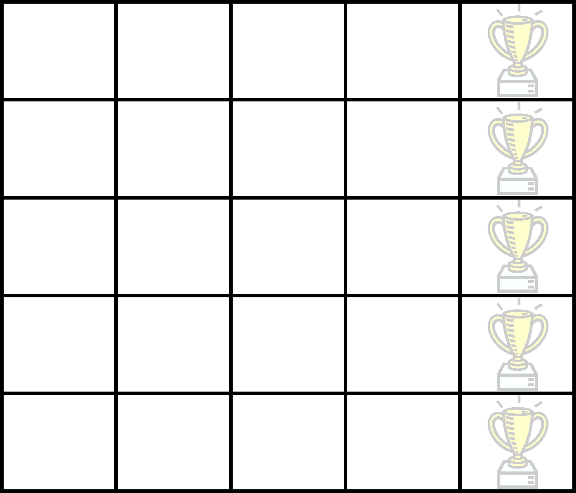 Blank Sticker Chart Template Free Download