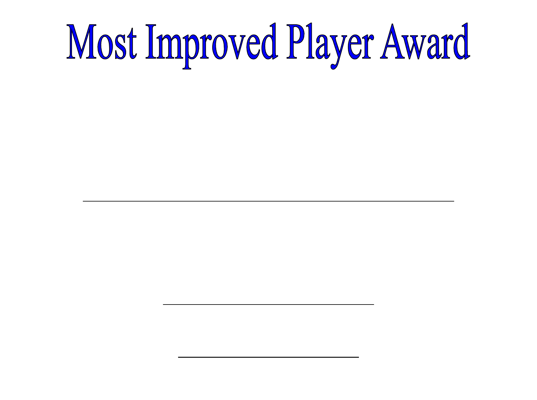 Player of the day certificate template choice image templates most improved certificate template gallery templates example most improved player award certificate free download this certificate yelopaper Images