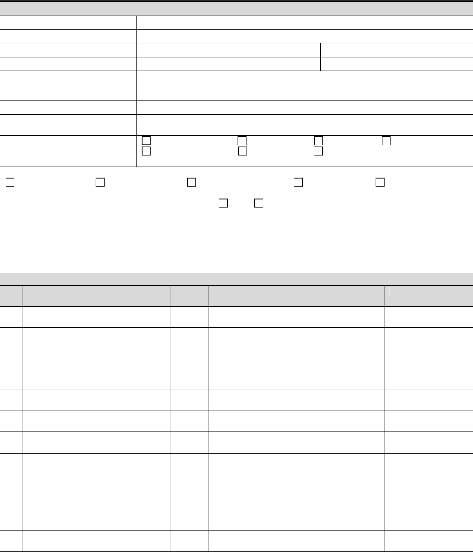 Standard Construction Activity Inspection Form Free Download
