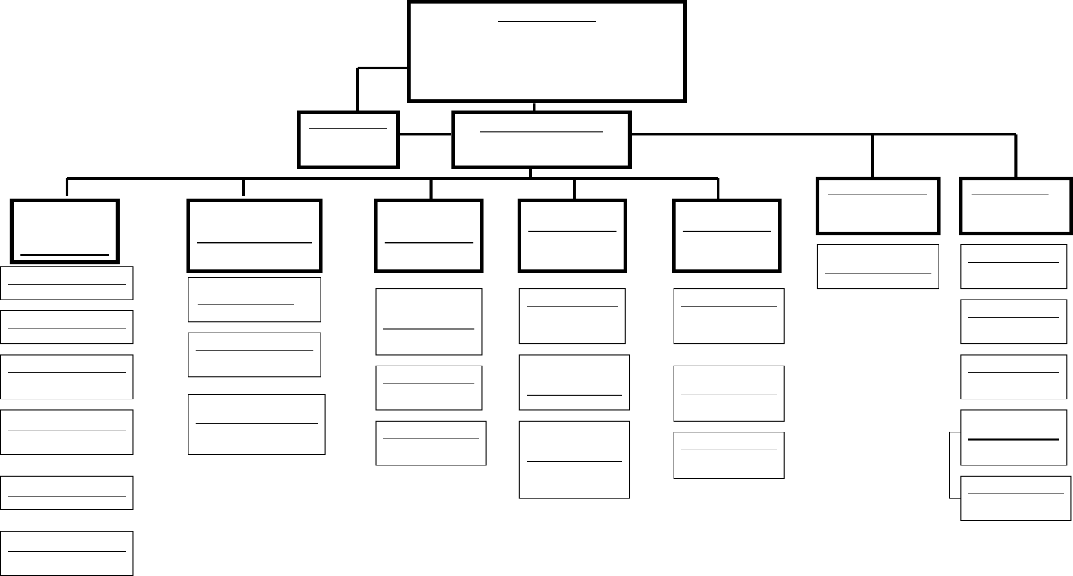 Blank organizational chart cumberland college free download for Free org chart template