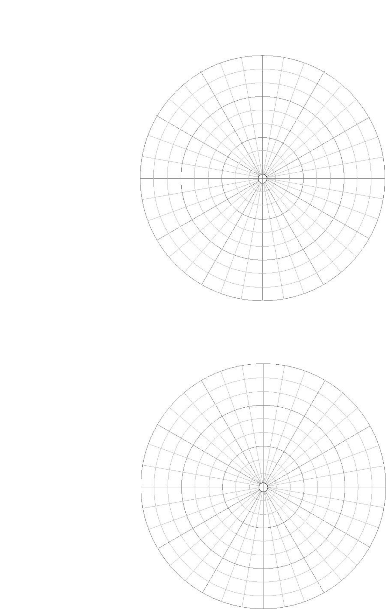 polar coordinate graph paper sample free download