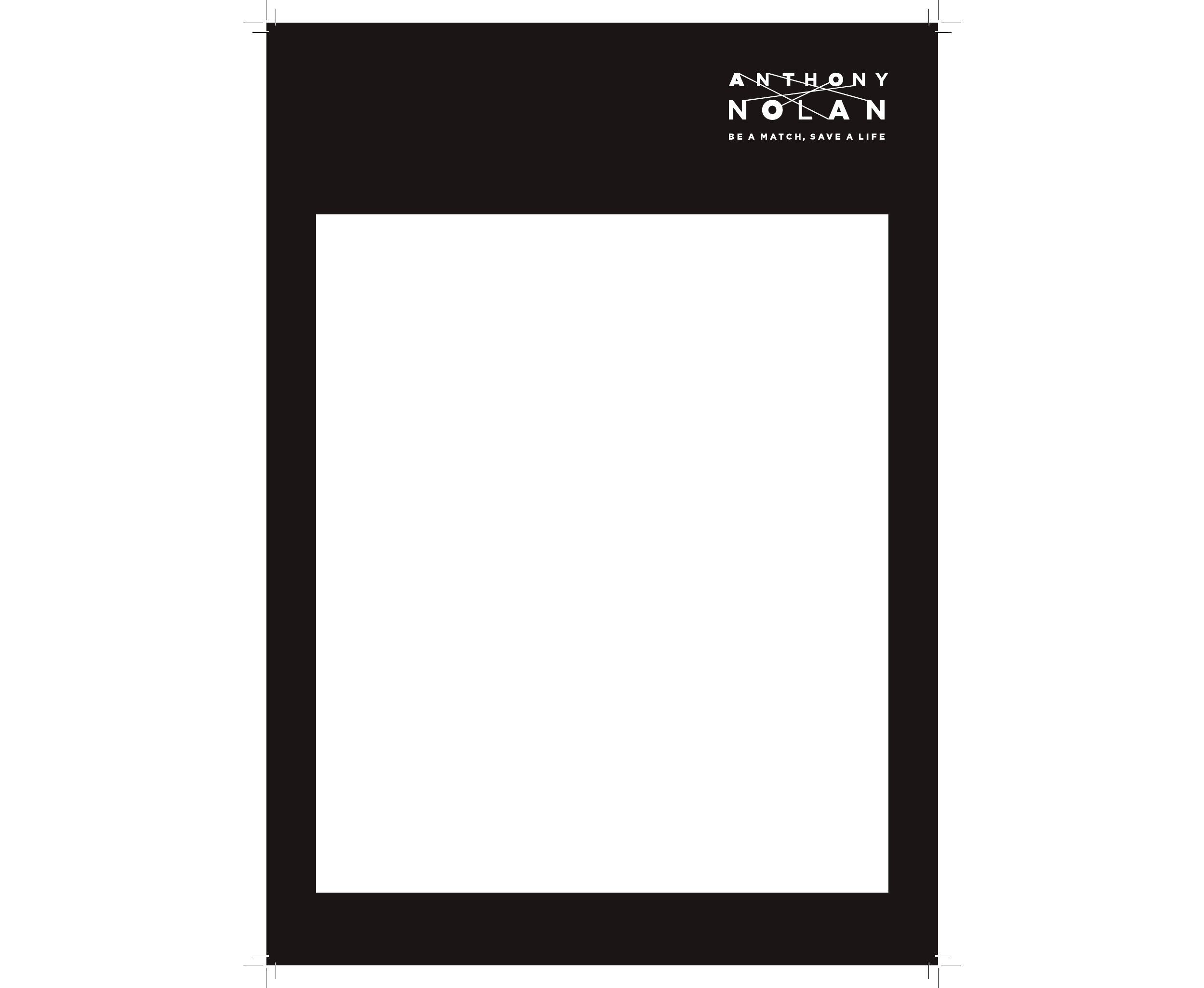 anthony nolan poster template free download