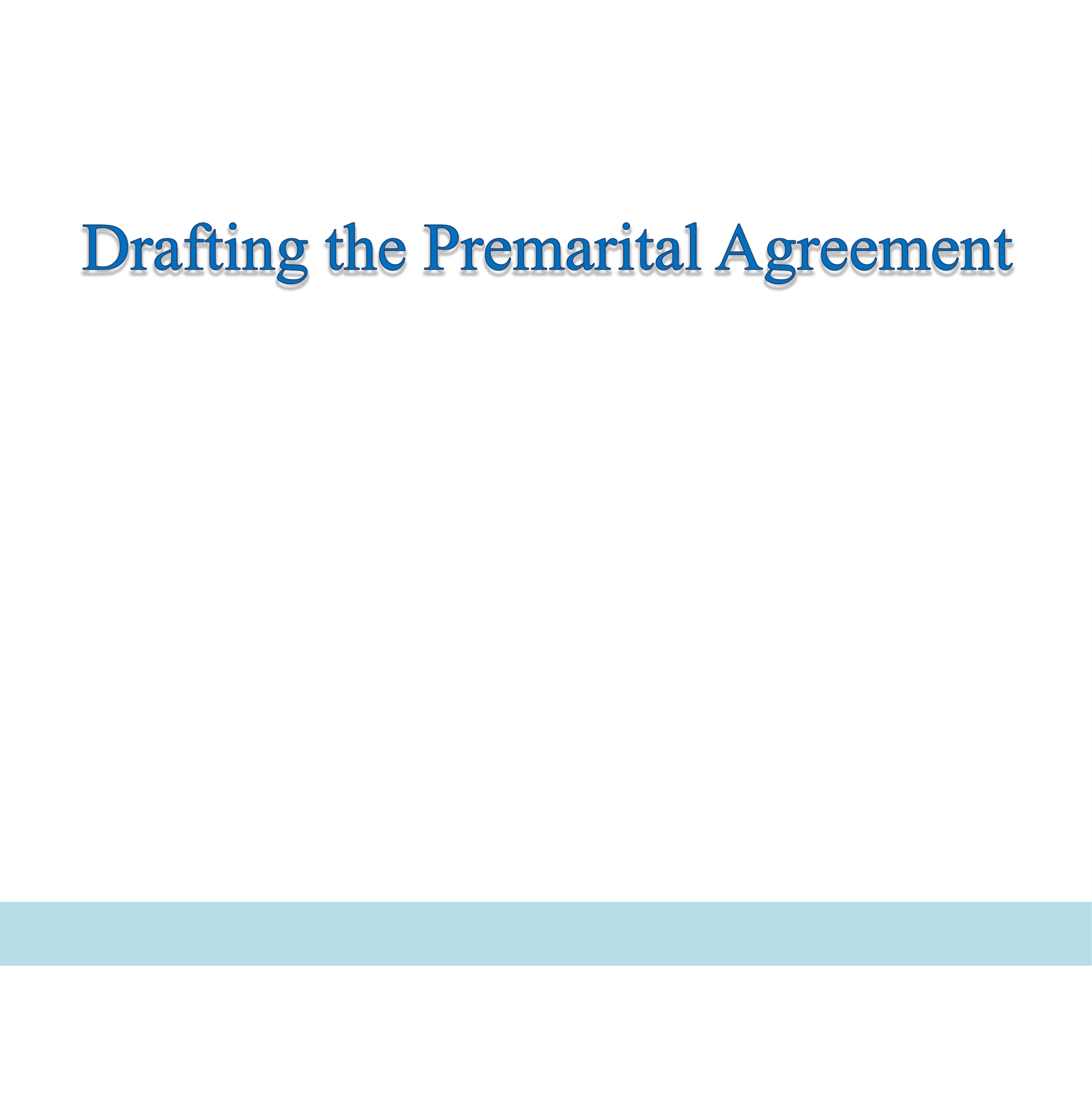 prenuptial agreements for first  subsequent and later