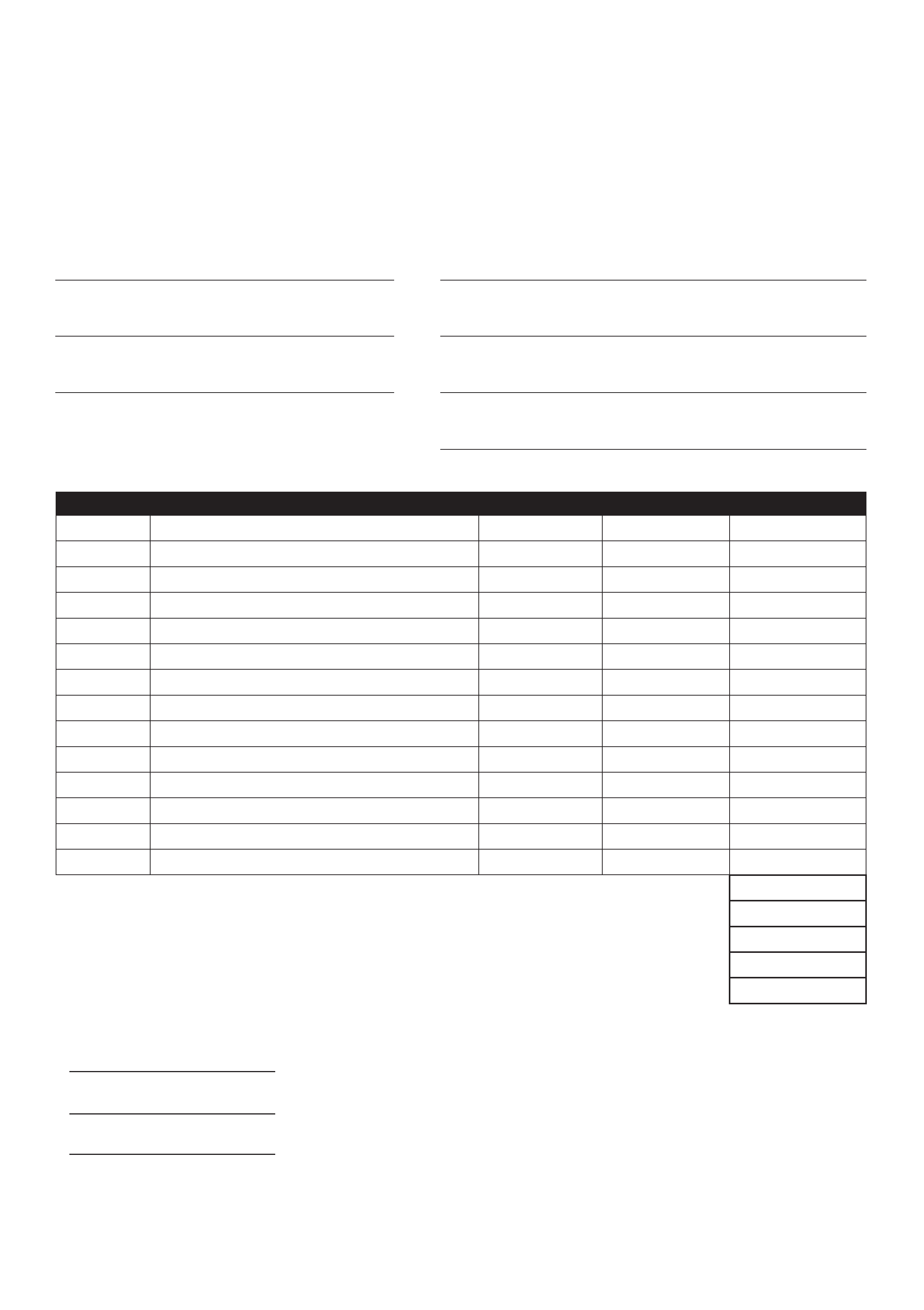 It is a graphic of Printable Order Forms regarding t shirt