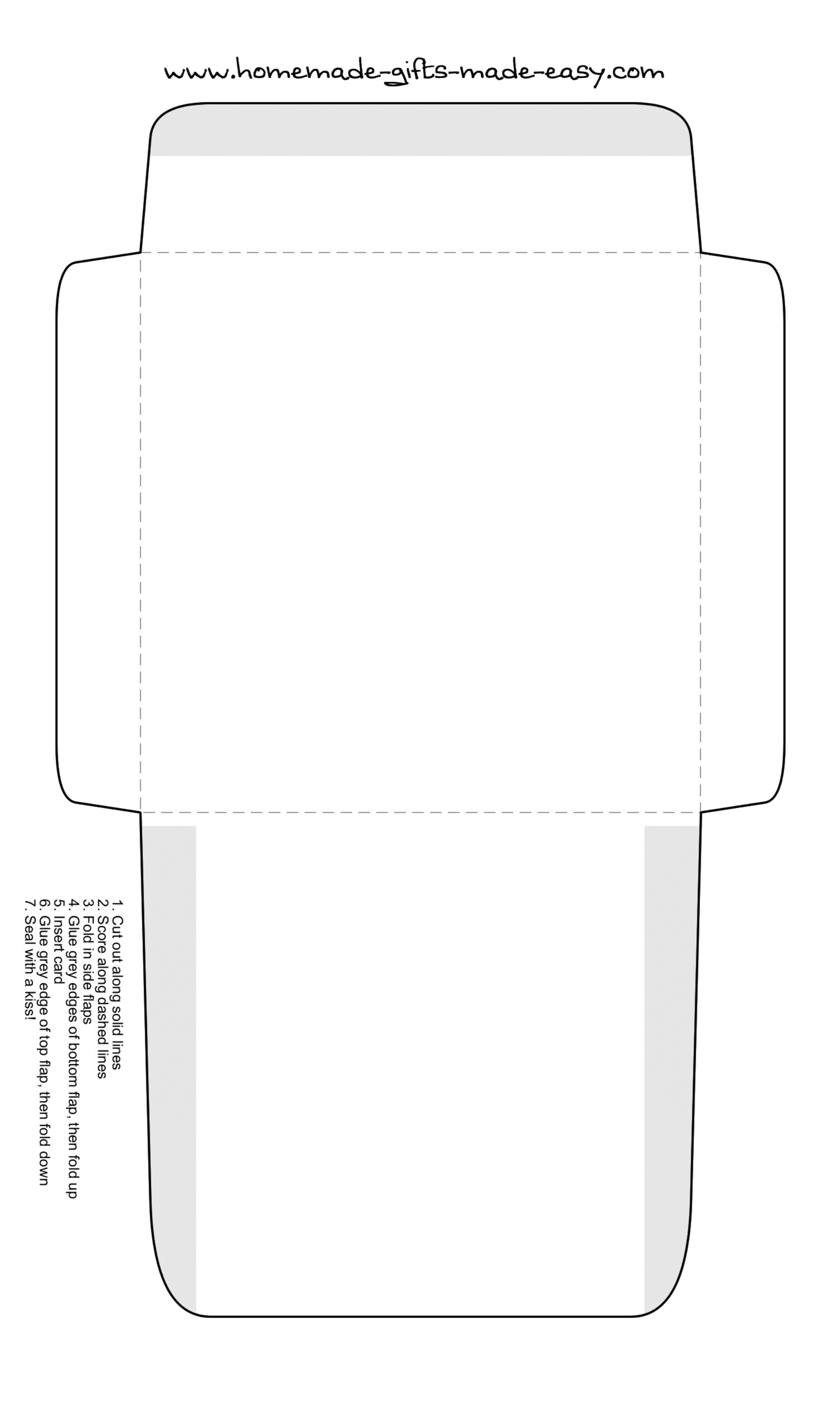 Square envelope printing template free download for Free envelope printing template