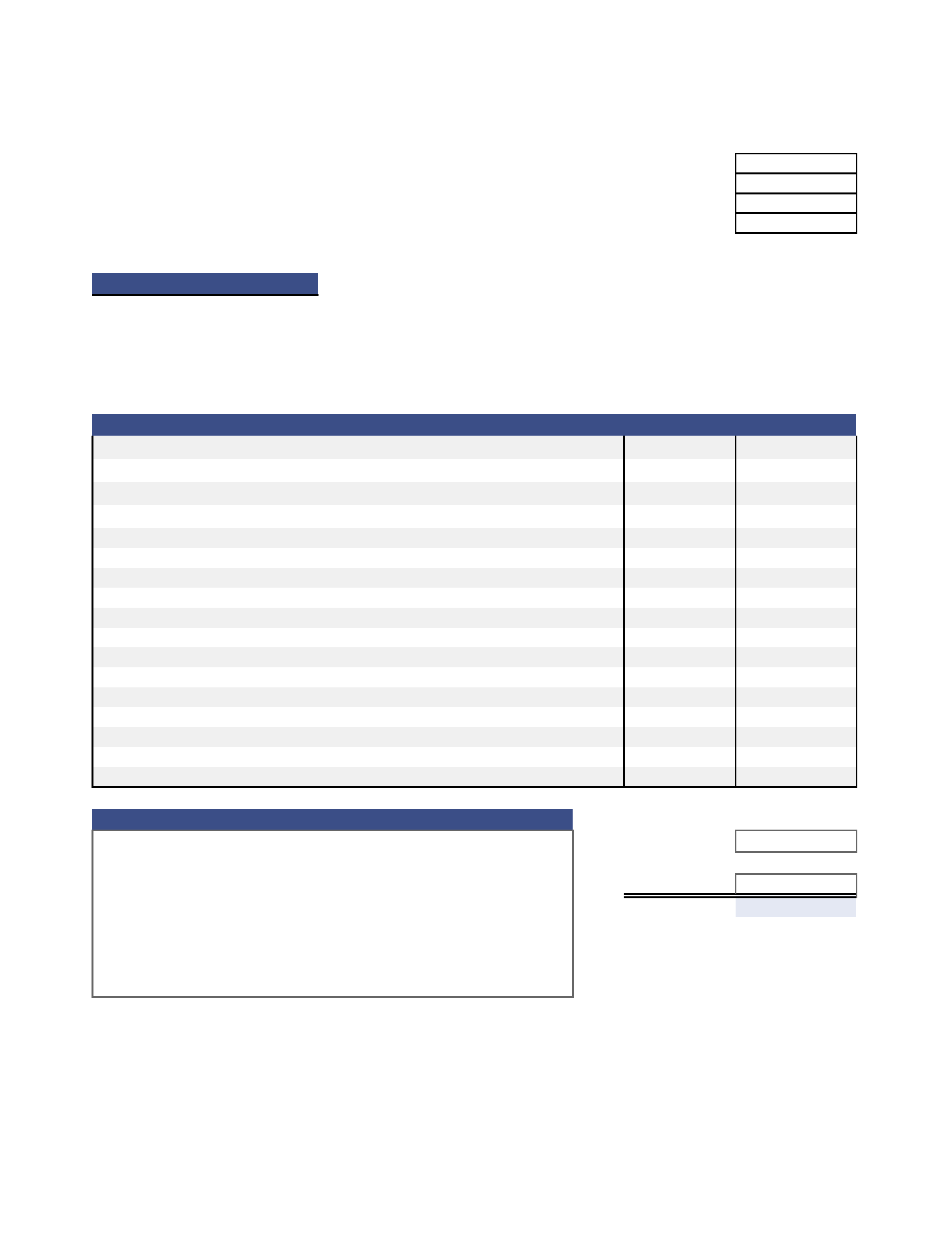 free quotation templates for word