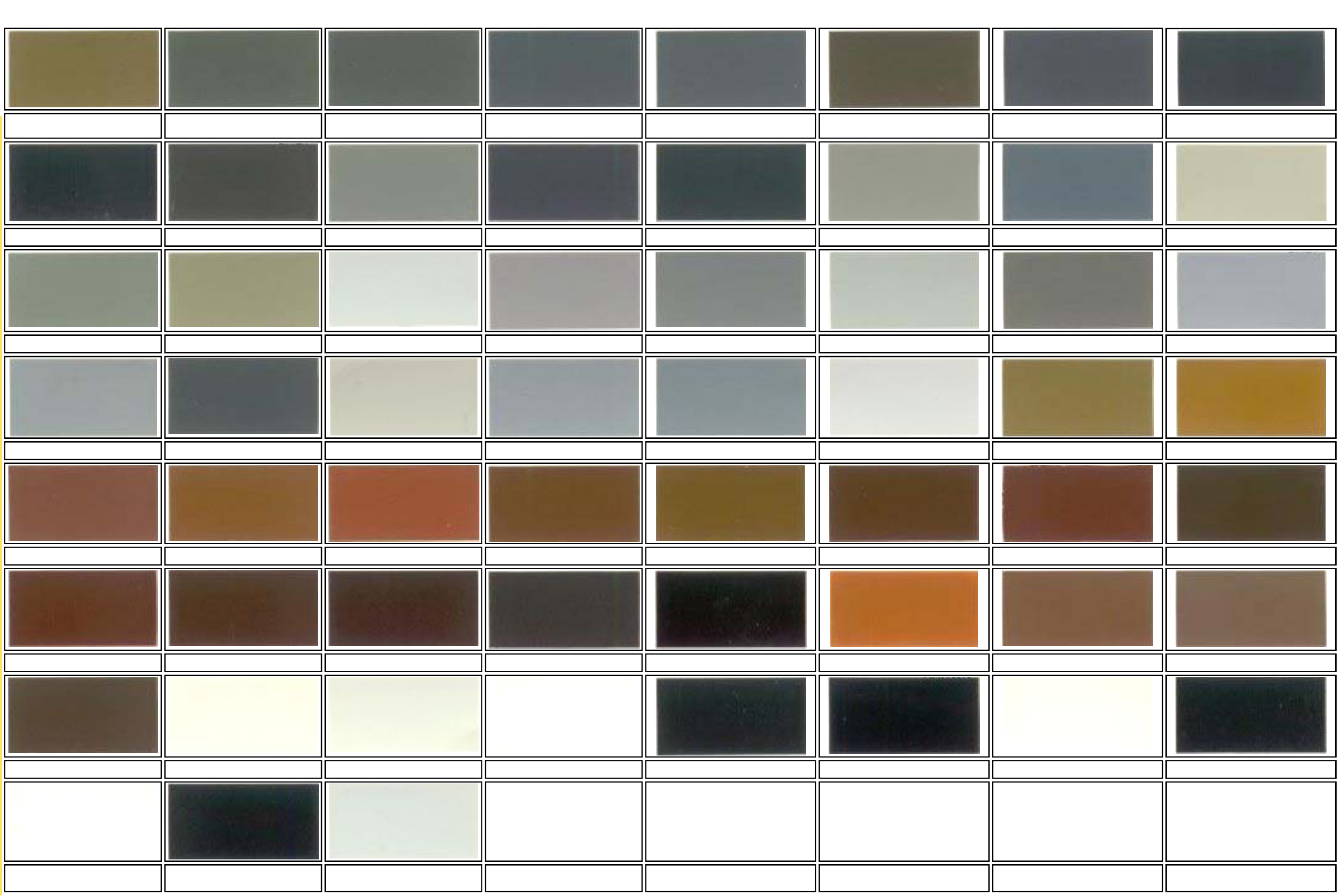 Concise Ral Color Chart Free Download