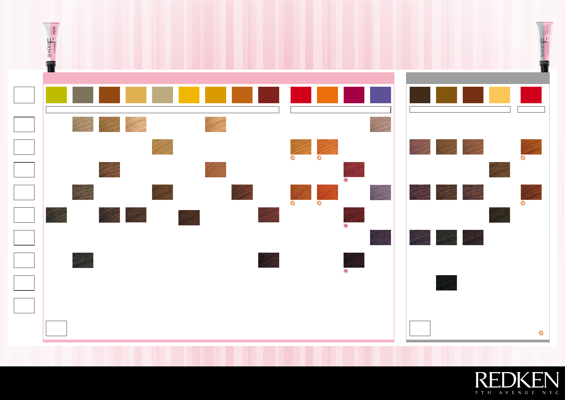 Redken Shades Eq Color Chart Hairstyle Guides