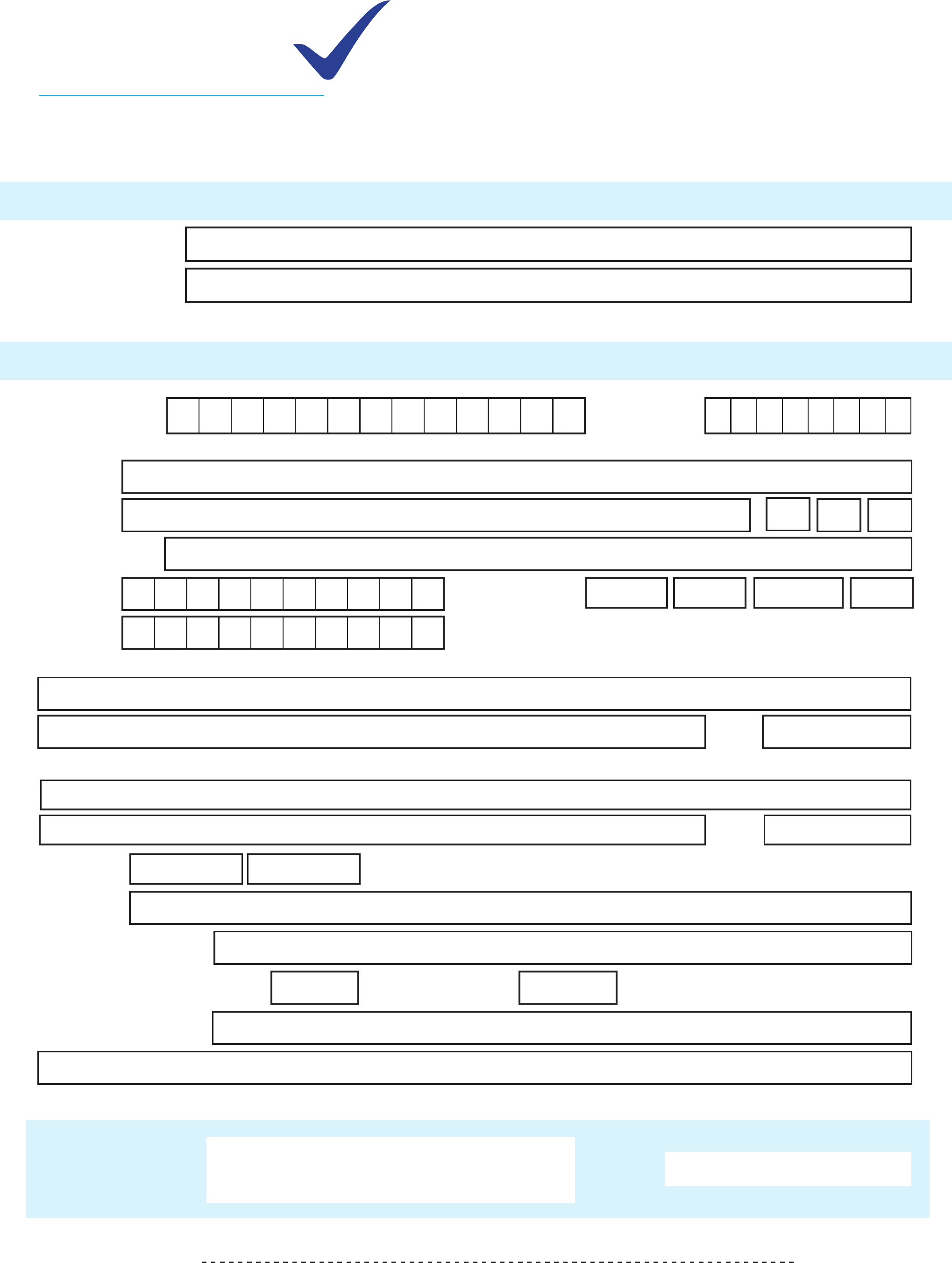free registration template download